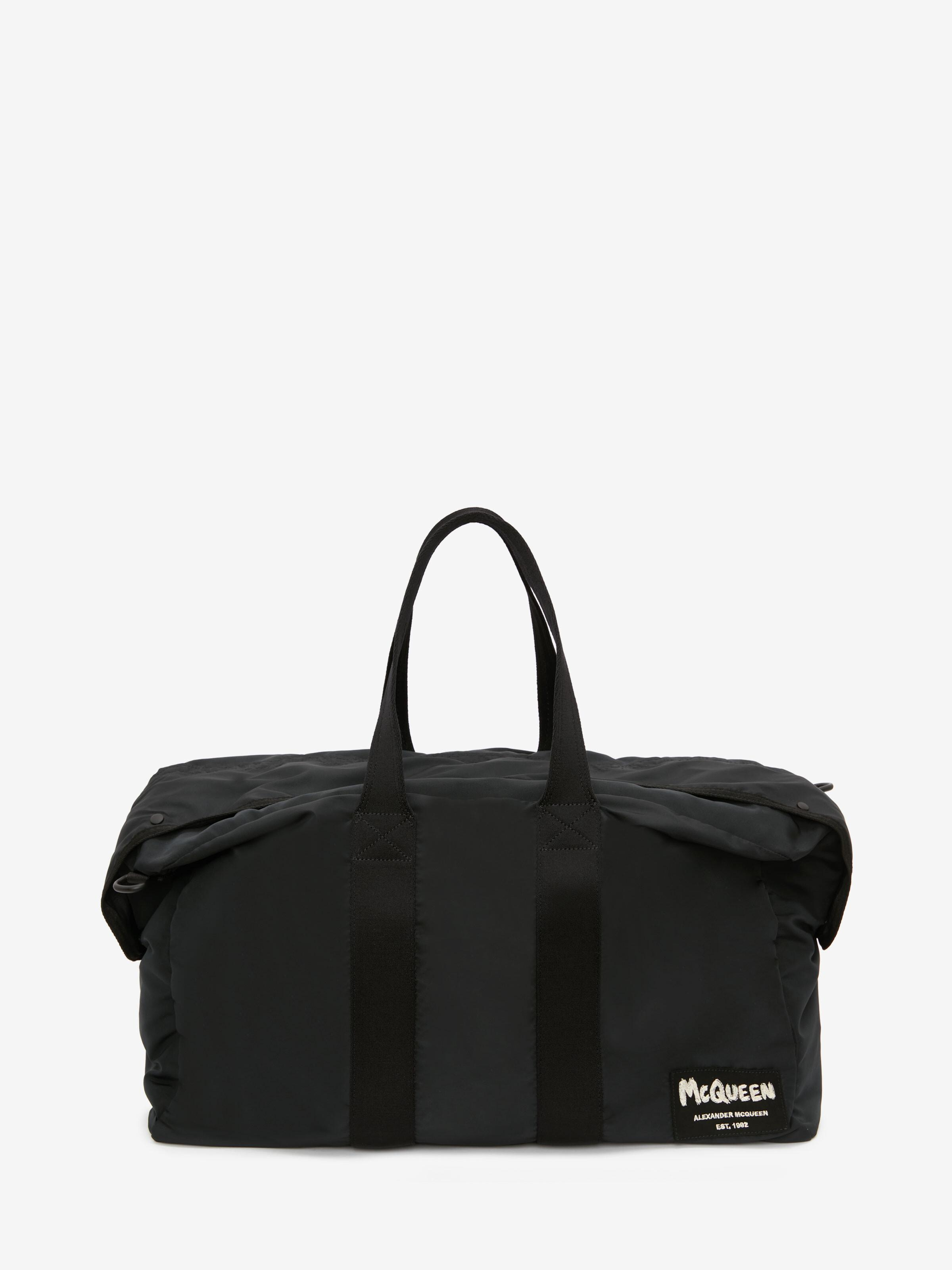 McQueen Tag Zipped Tote