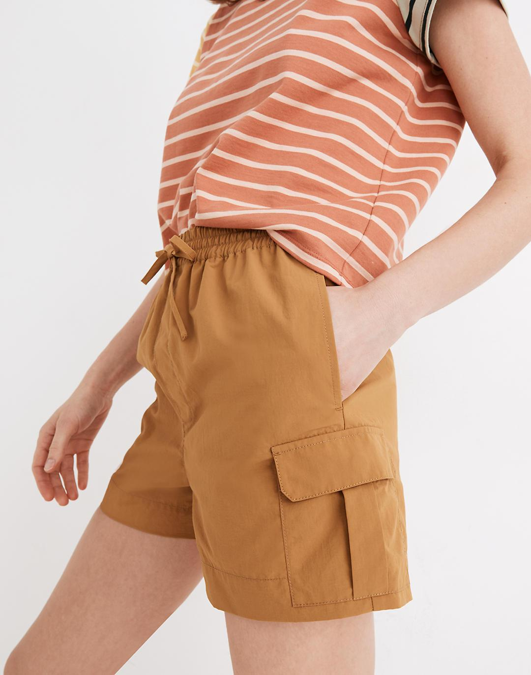 Ripstop Pull-On Cargo Shorts 1
