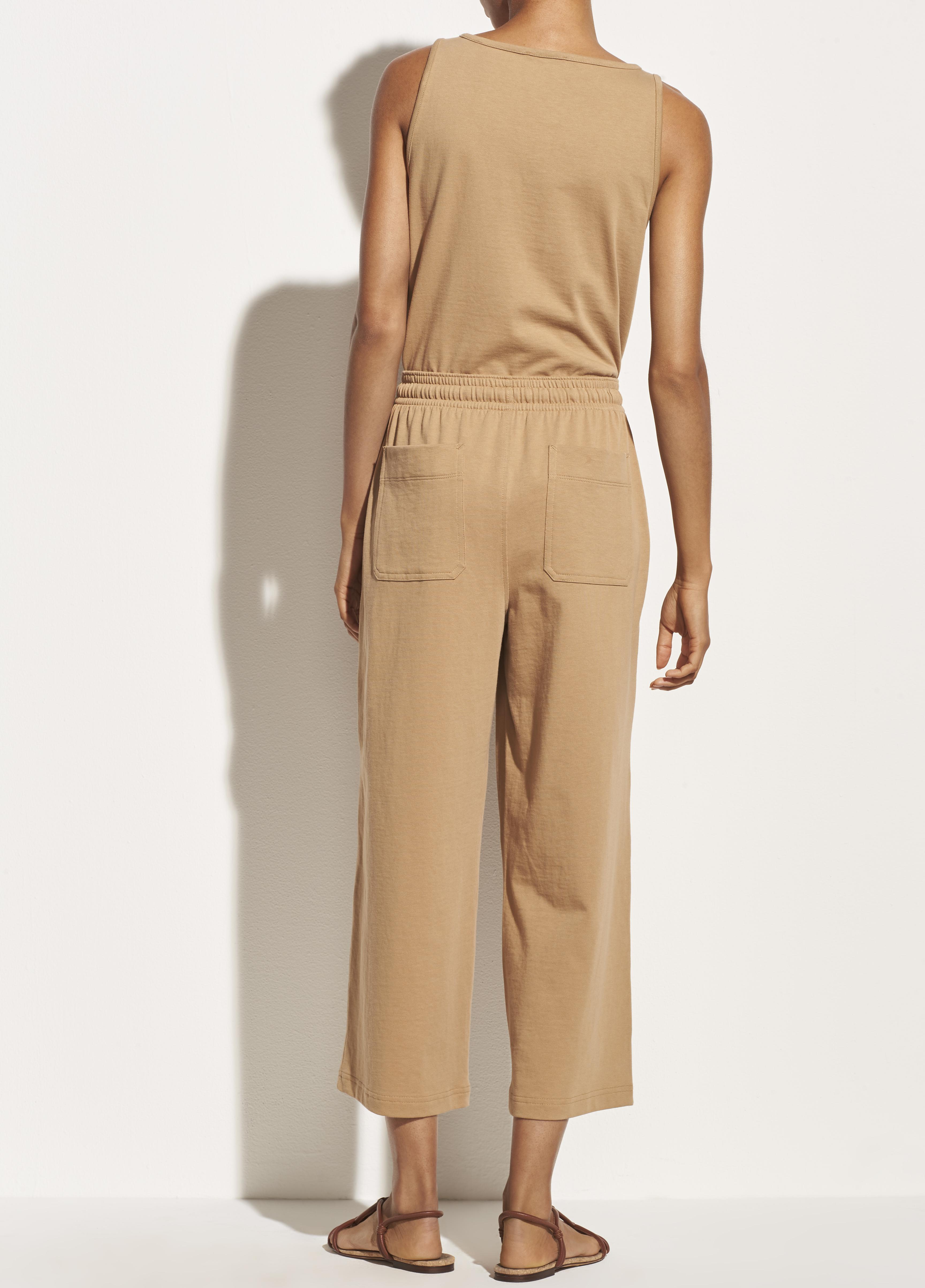 Cropped Wide Leg Pull On Pant 3