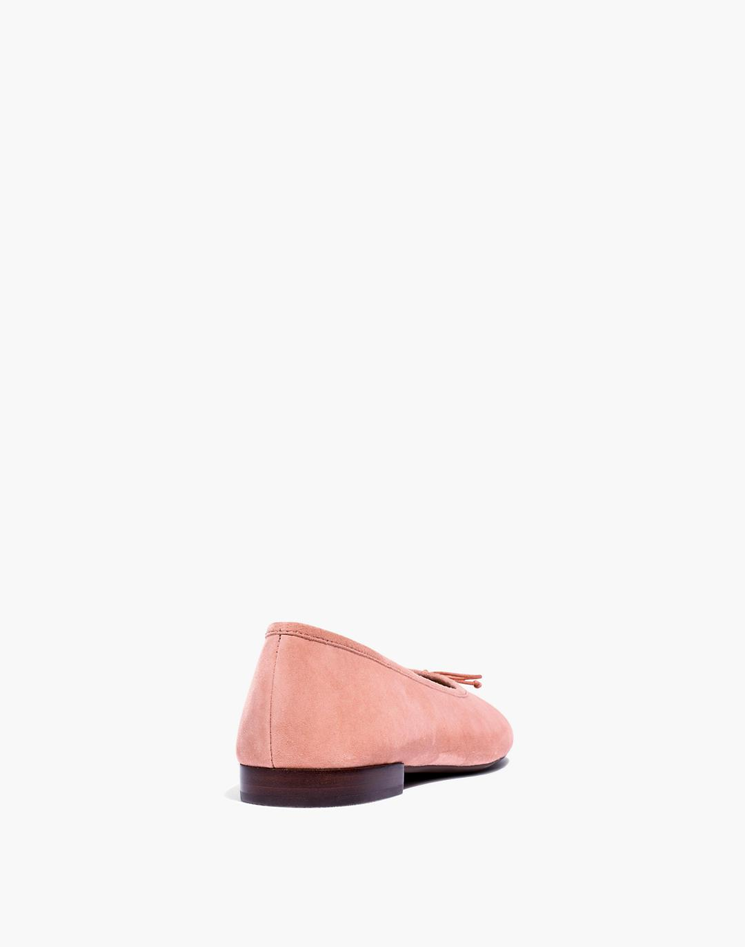 The Adelle Ballet Flat in Suede 2