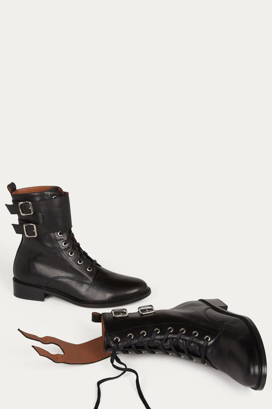 como.FLAT ANKLE BOOTS 1
