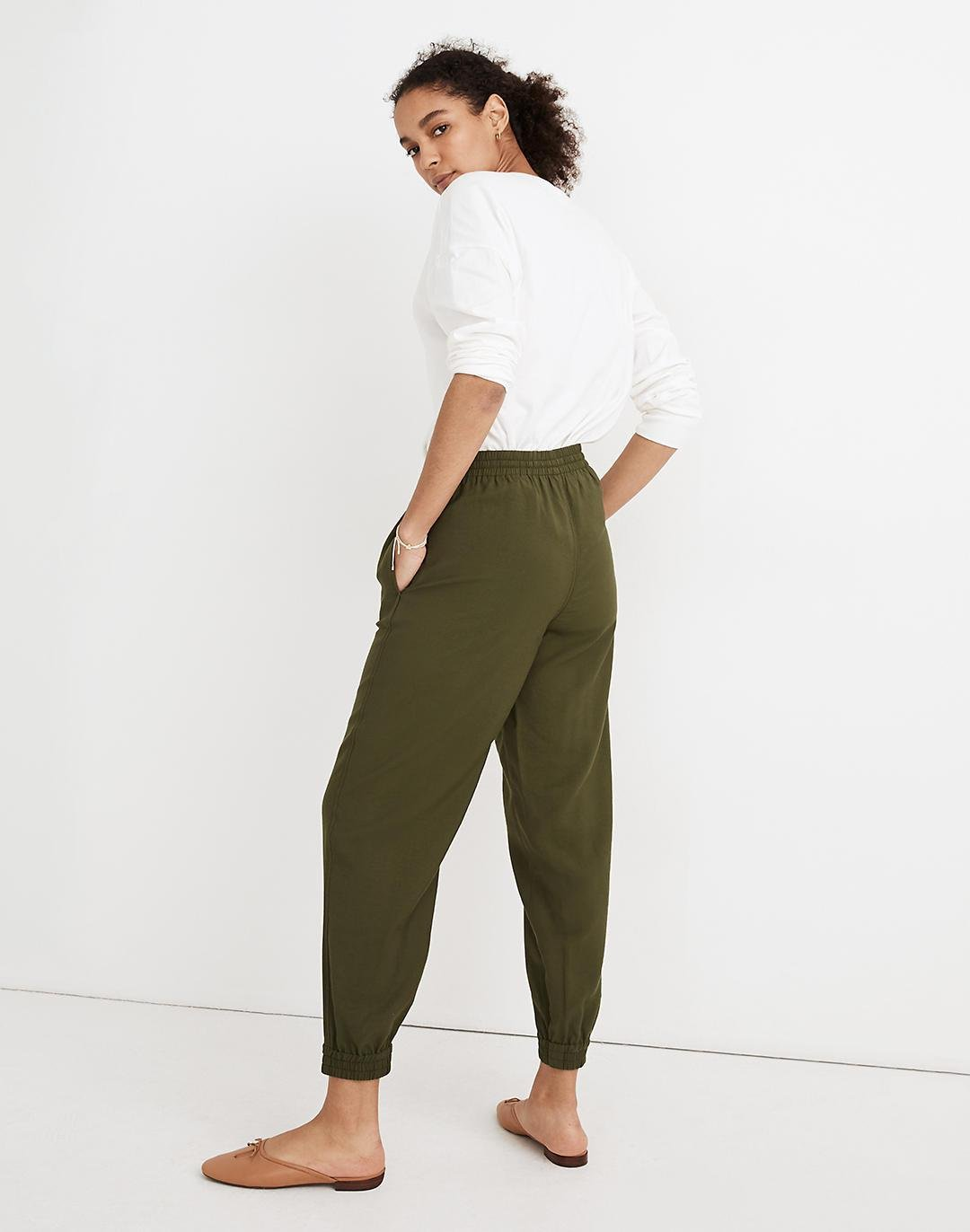 Drawstring Track Trousers 2