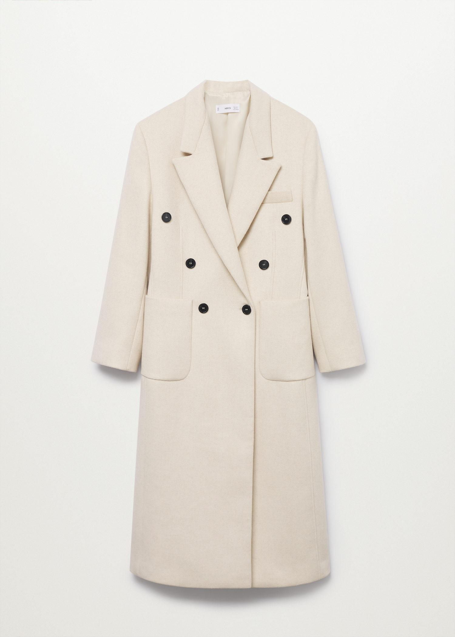 Double-breasted coat 8