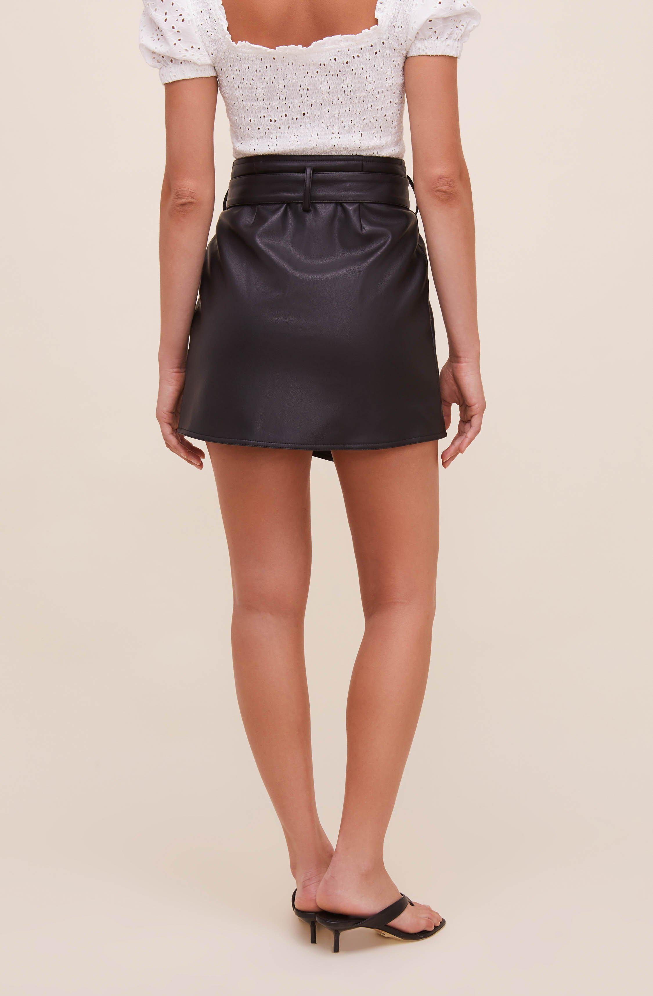 Briar Faux Leather Skirt 5