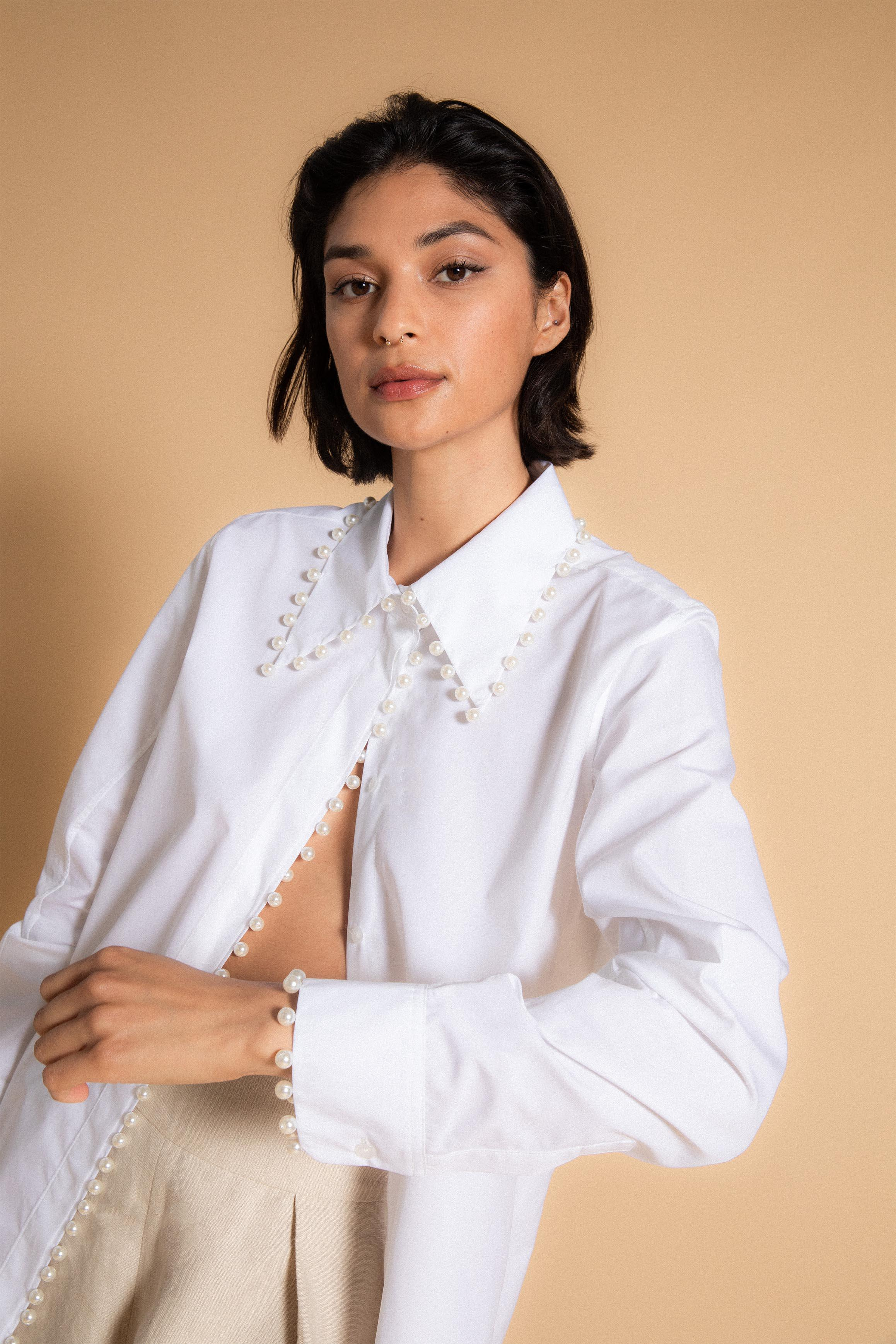 Pearl Button Up