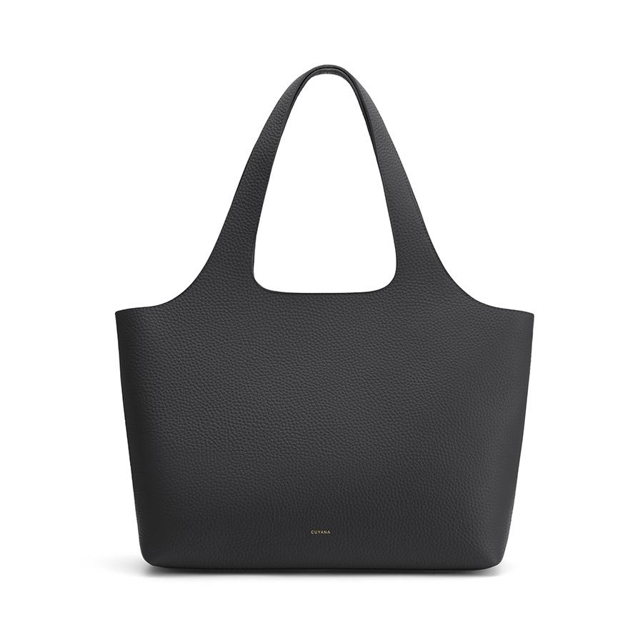 Women's System Tote Bag in Black | Size: