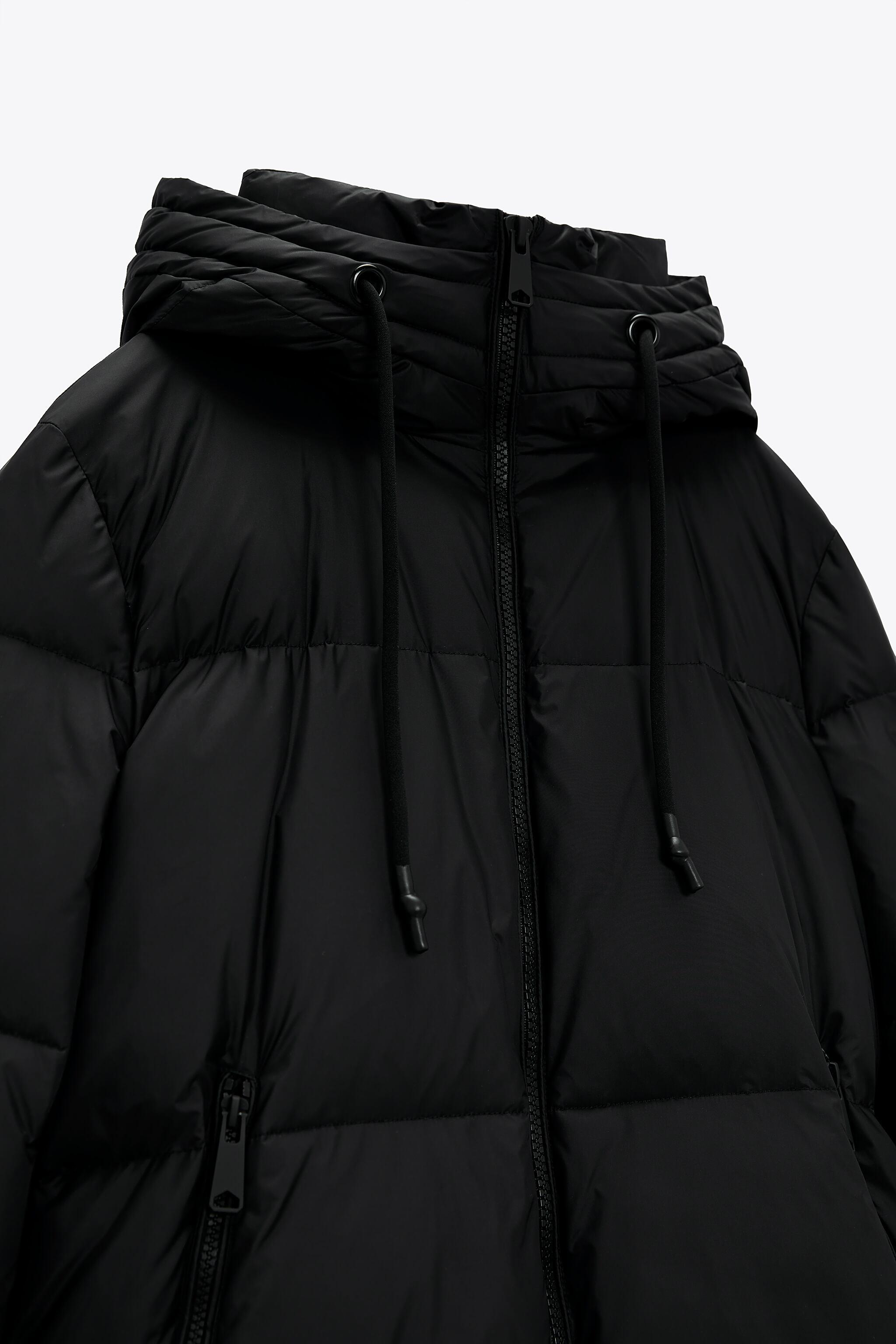 WATER AND WIND PROTECTION OVERSIZED DOWN COAT 8