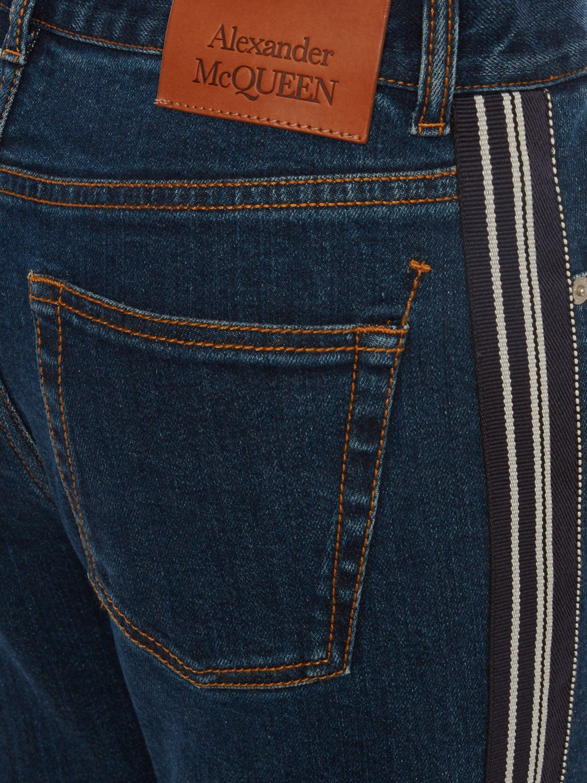 Fitted Denim Trouser 4