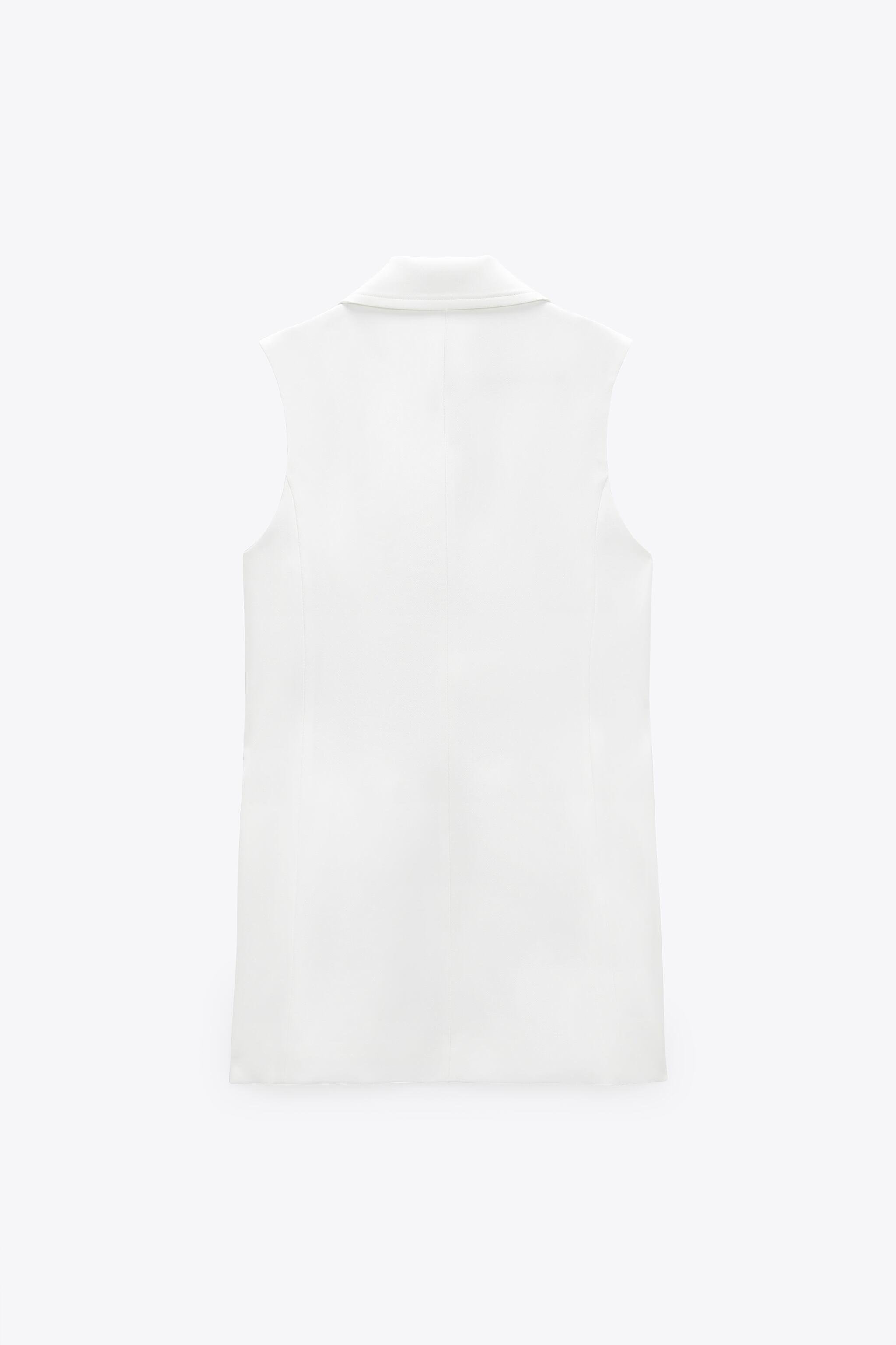DOUBLE BREASTED VEST WITH PATCH POCKETS 2