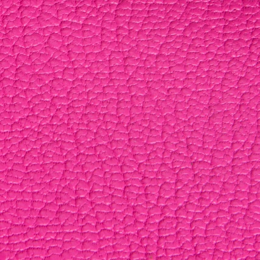 Lenny Hot Pink Grained Leather 7