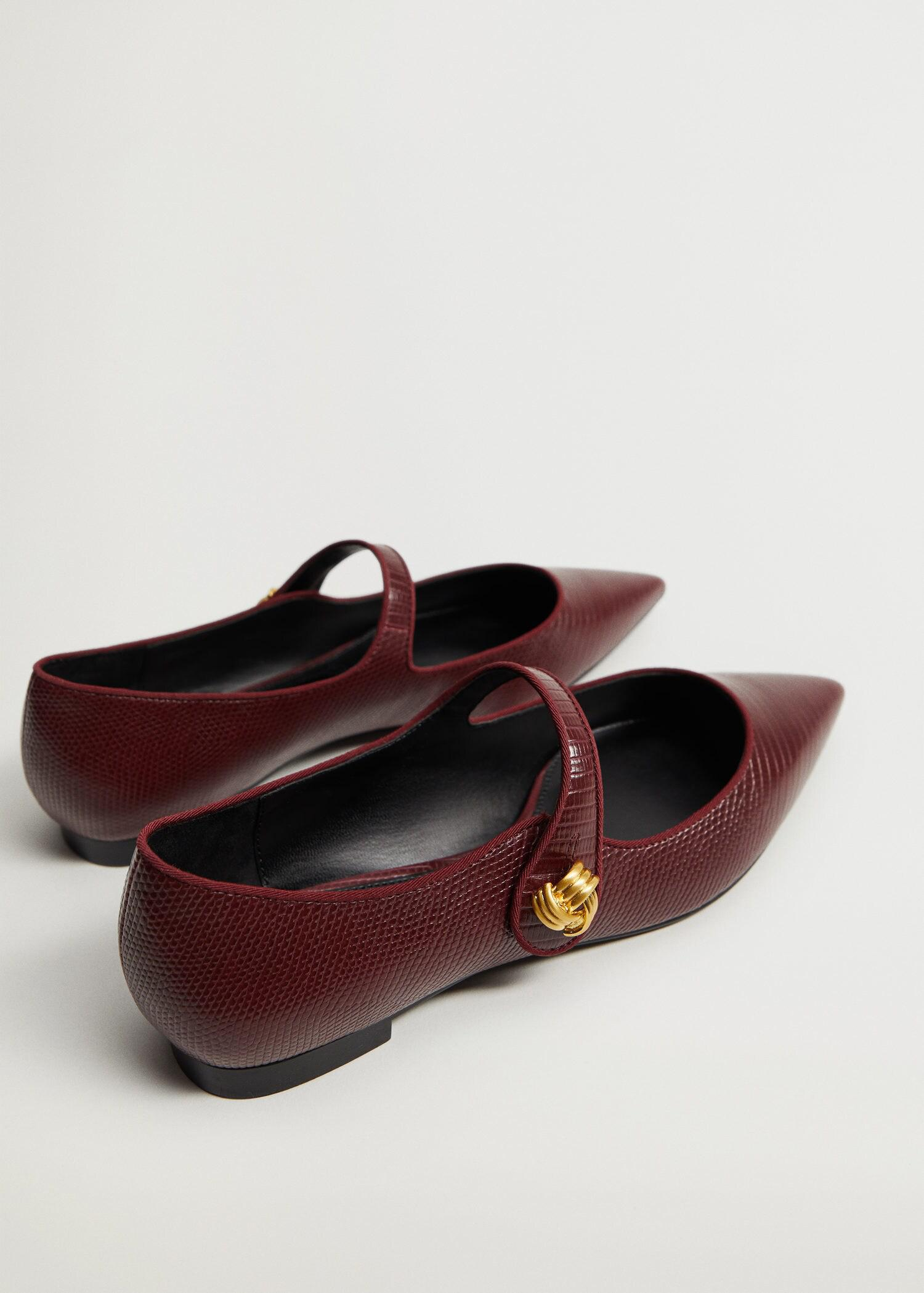 Ballerina shoes with tip 2