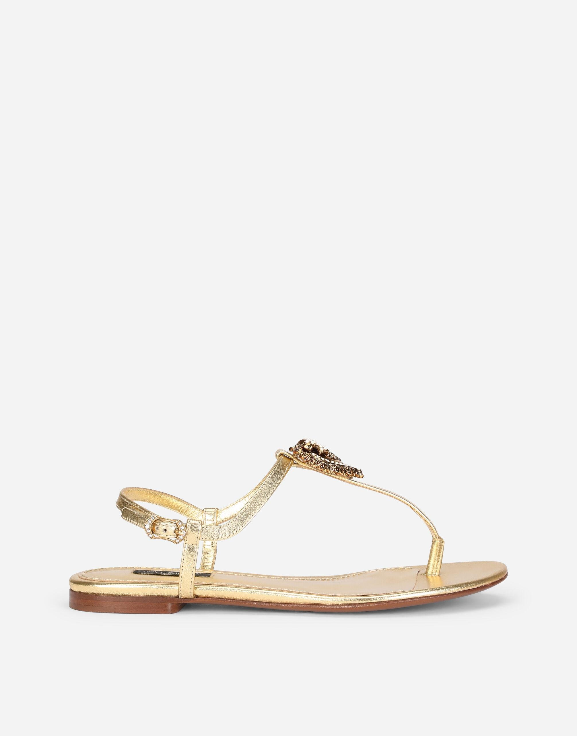 Nappa leather Devotion thong sandals
