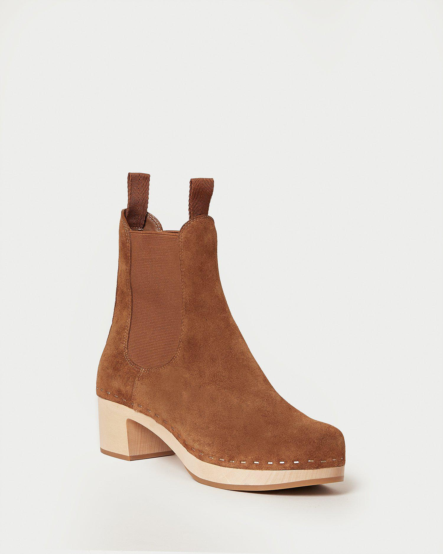 Anabelle Cacao Clog Boot