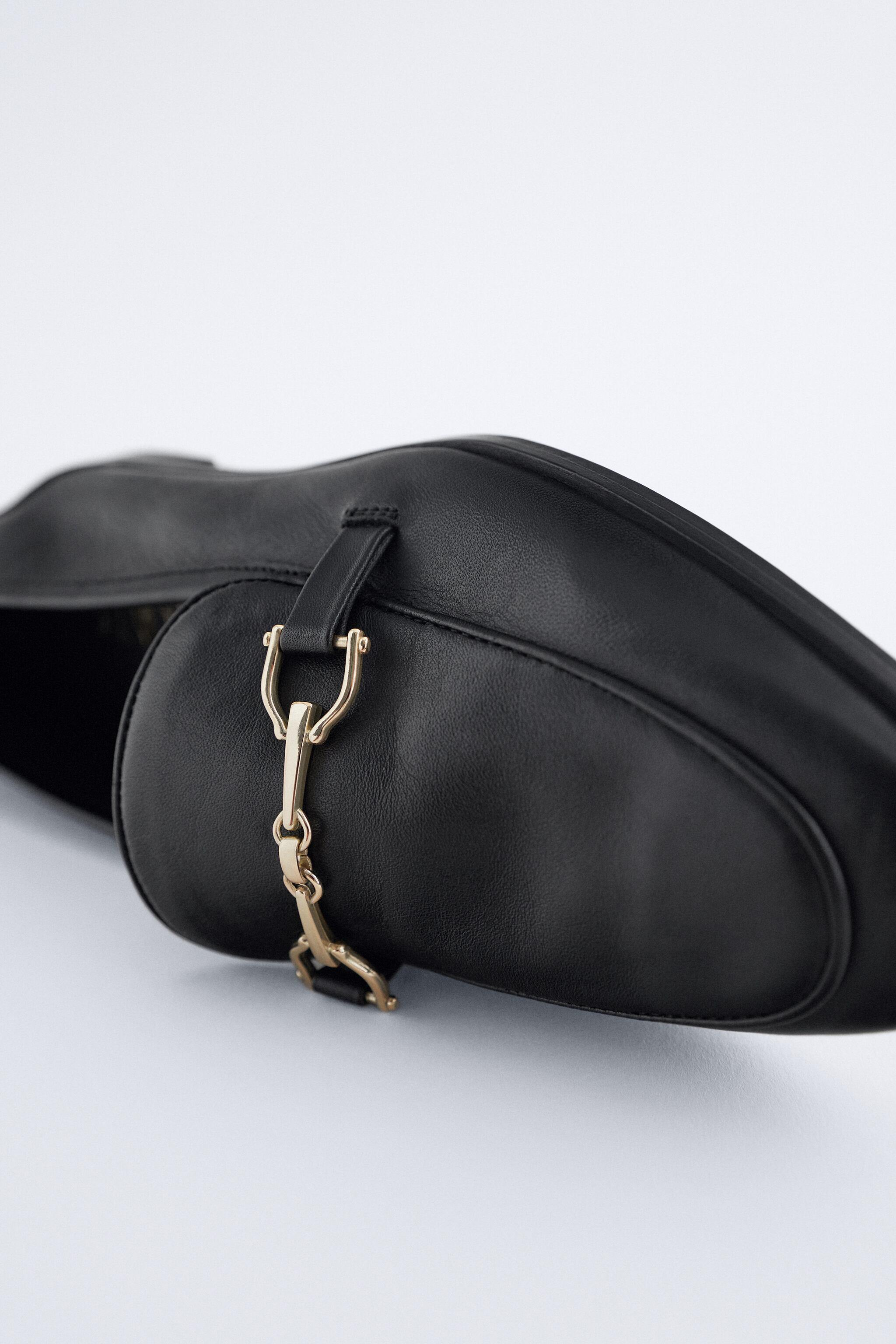 BUCKLED LEATHER LOAFERS 3