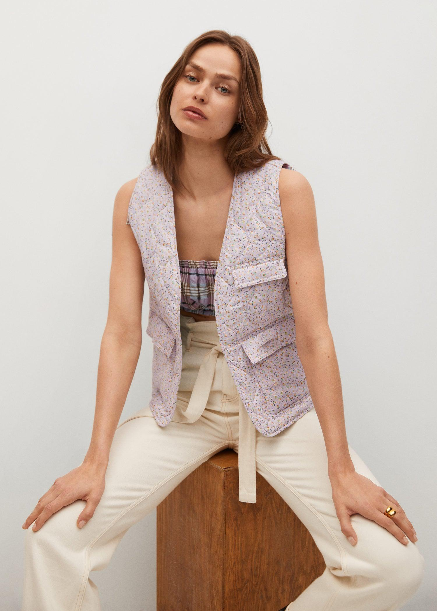 Cotton quilted gilet 3