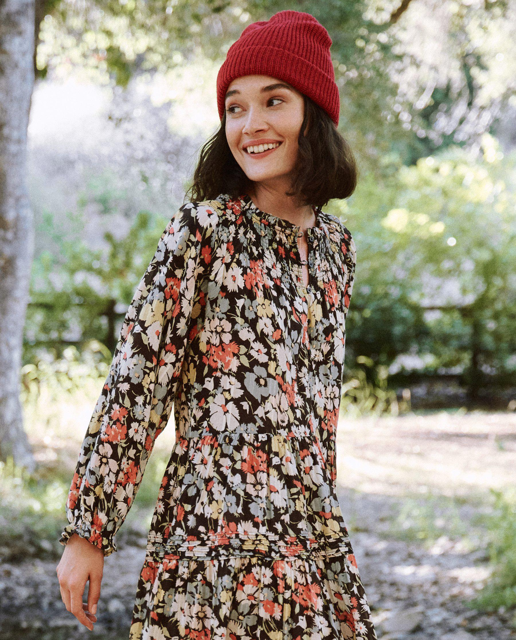 The Pasture Dress. -- Meadow Floral