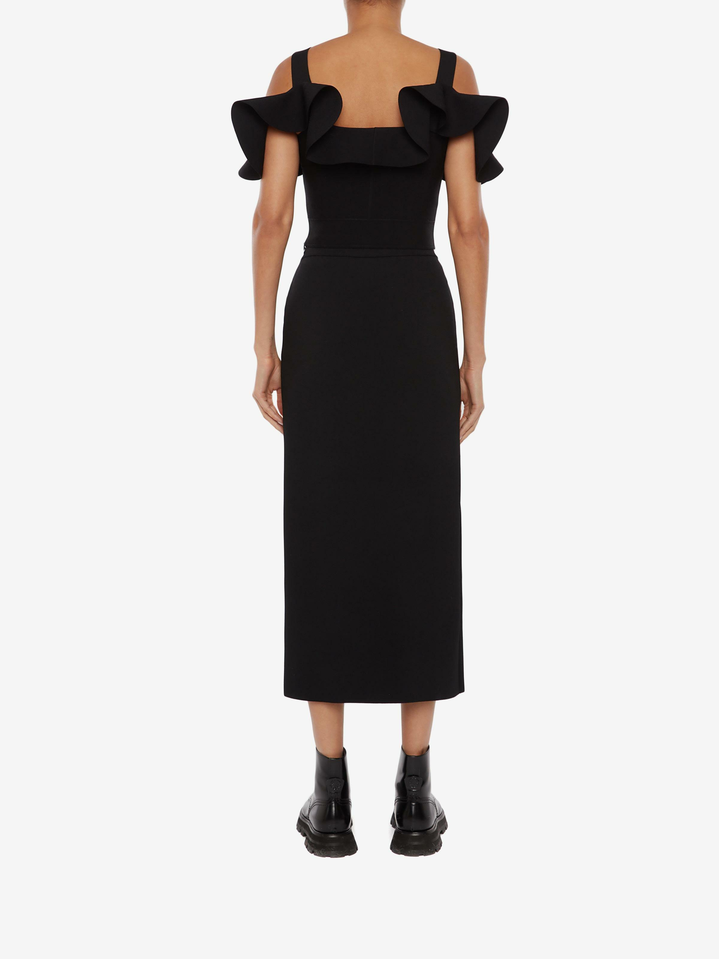 Engineered Sculpted Knit Pencil Skirt 2