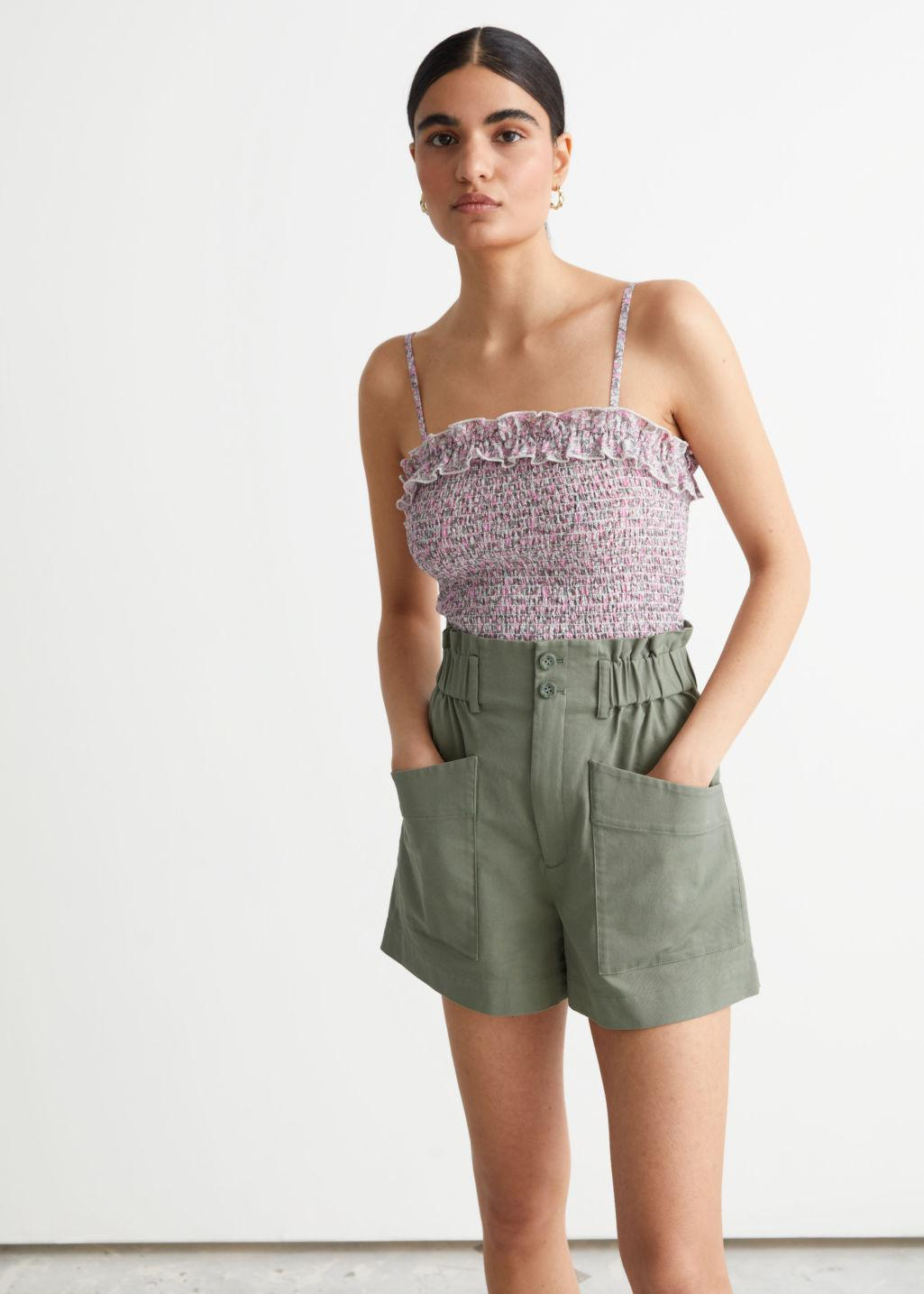 Strappy Smock Top