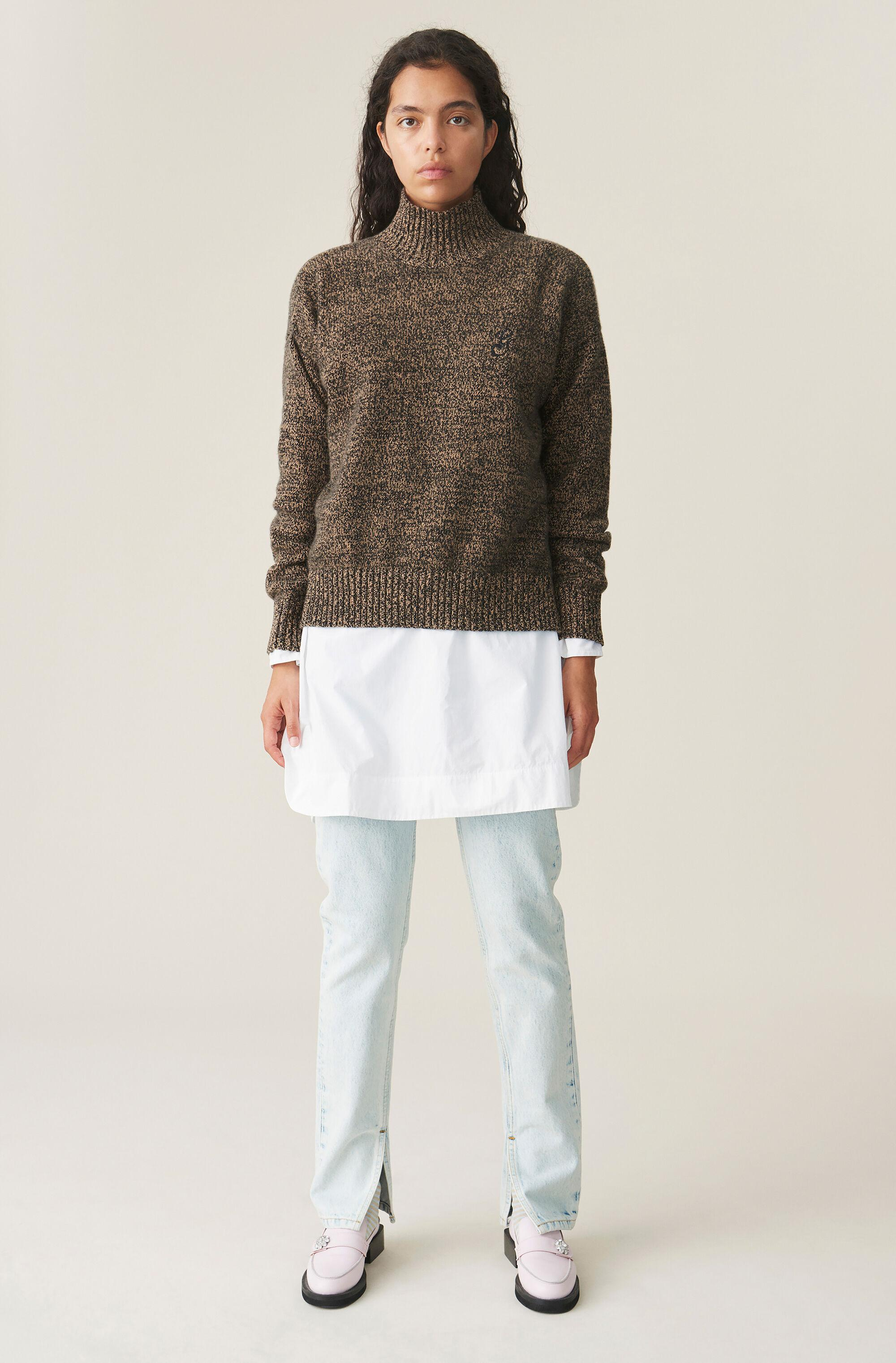 Cashmere Mix Pullover 1