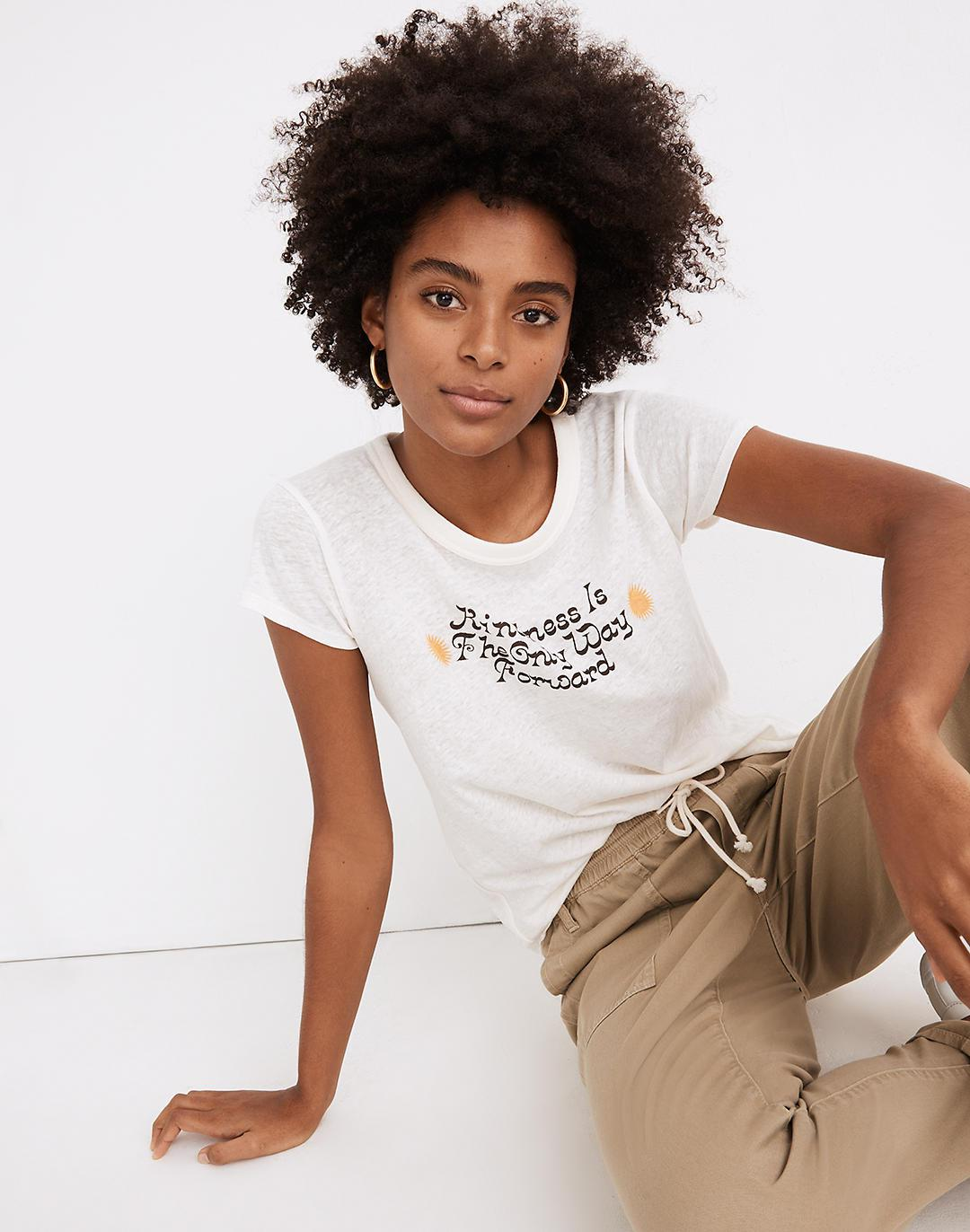 Madewell x Real Fun, Wow!® Kindness Graphic Perfect Vintage Tee