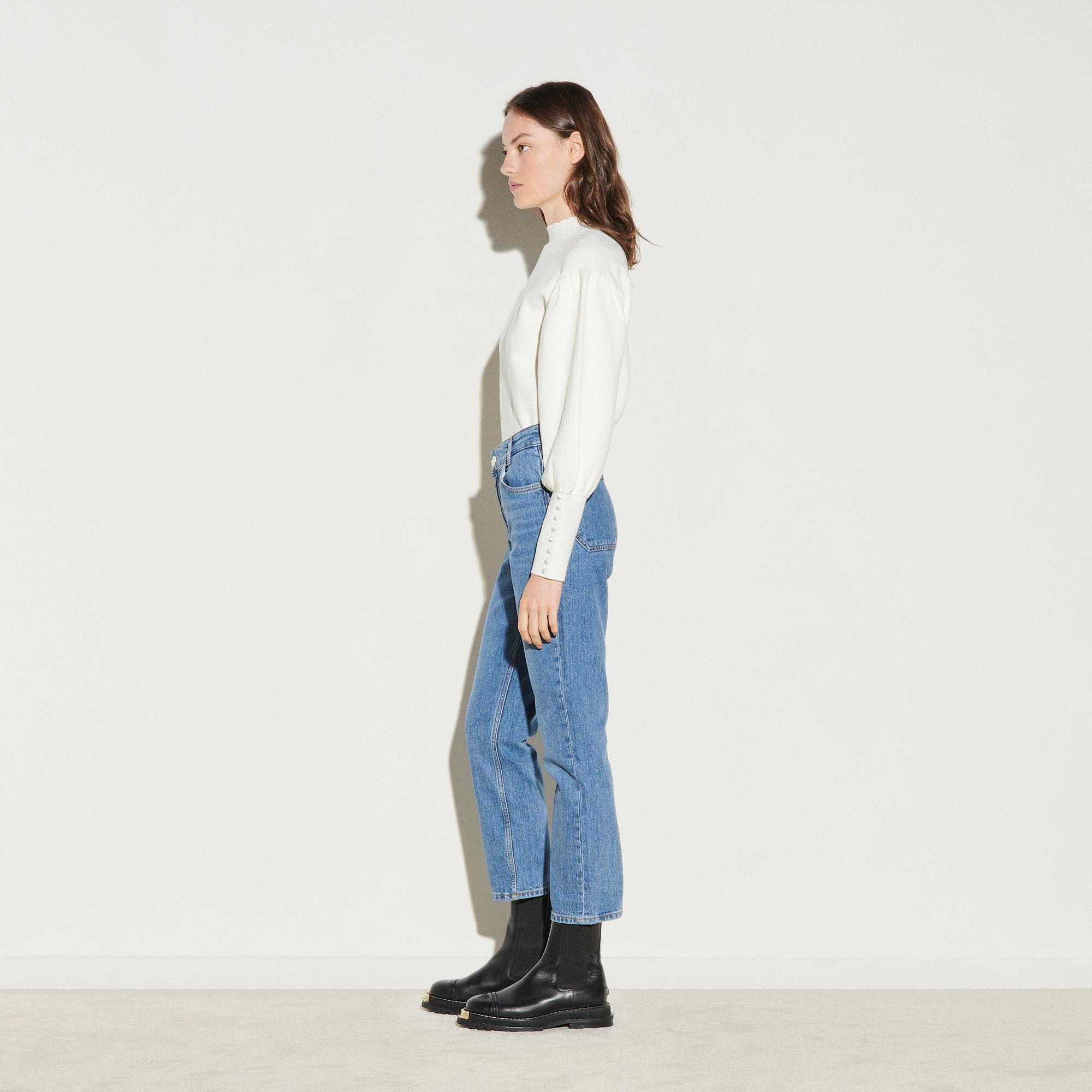 Stretch jeans with 5 pockets 2