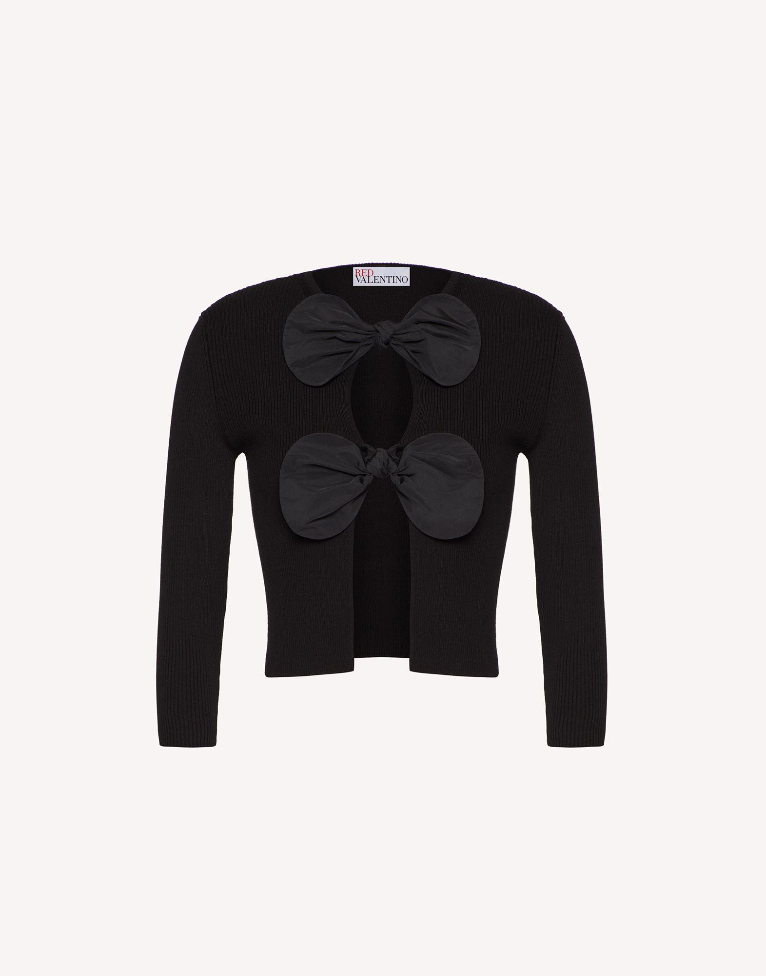 COTTON CARDIGAN WITH BOWS 4