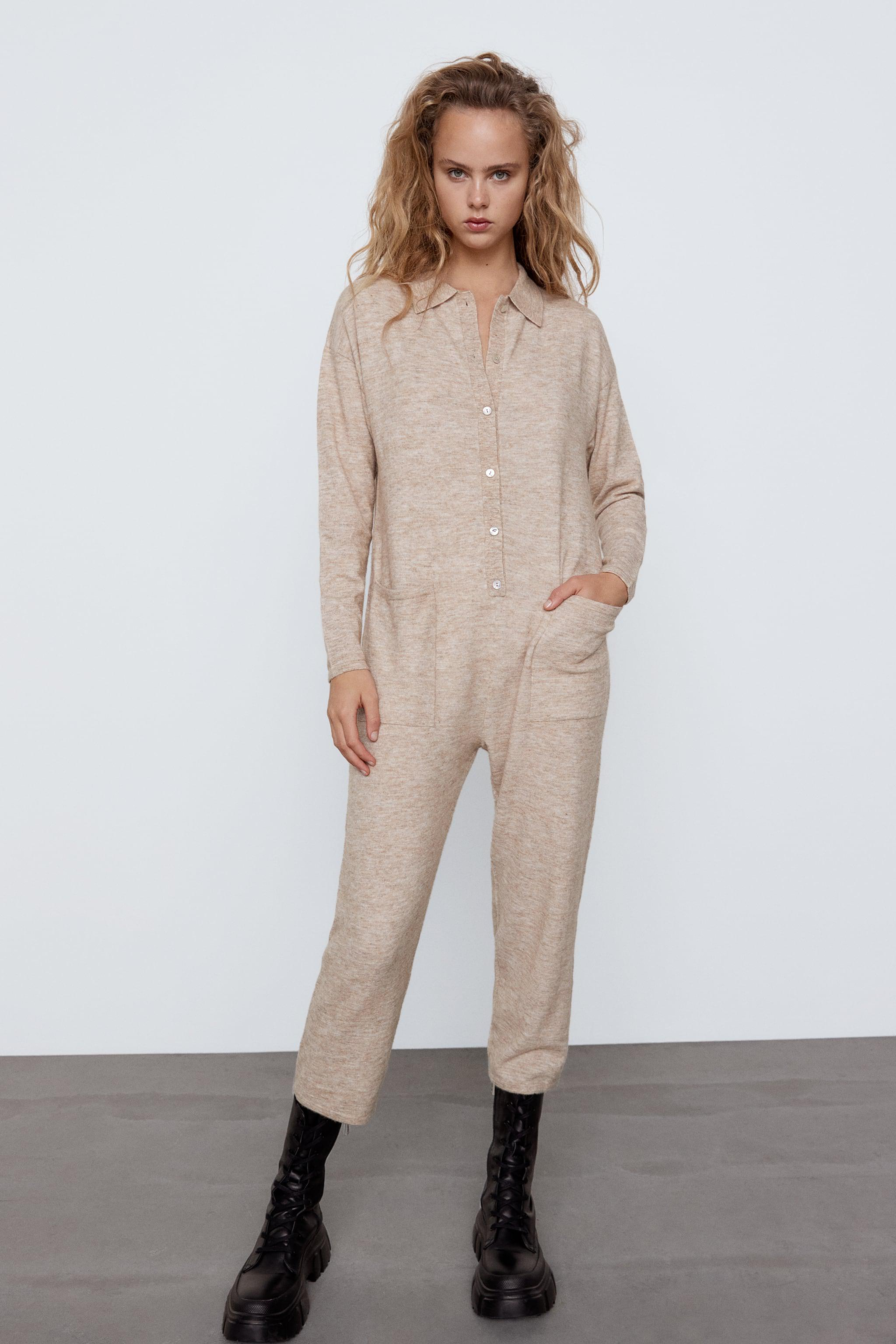 WOOL BLEND JUMPSUIT SPECIAL EDITION 0