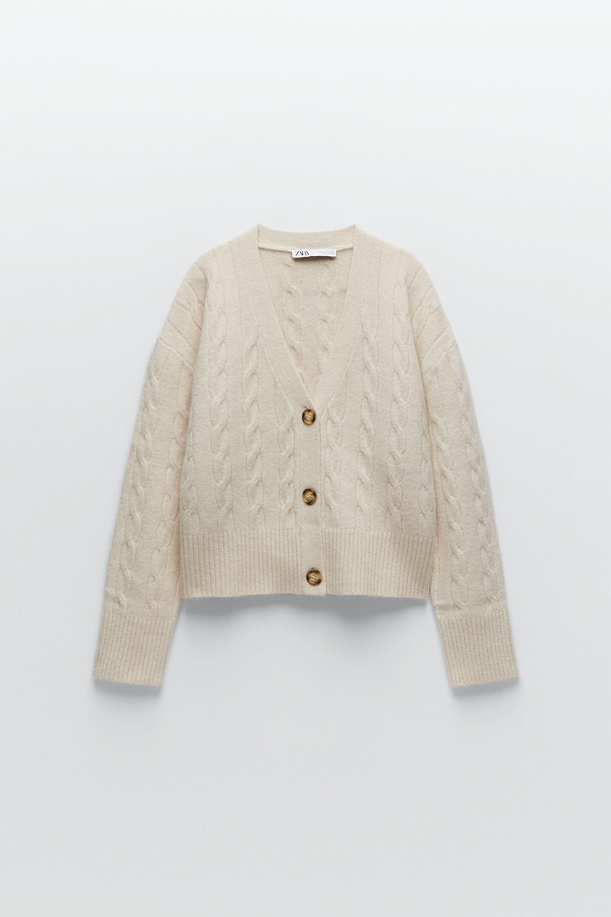 CABLE-KNIT JACKET 3