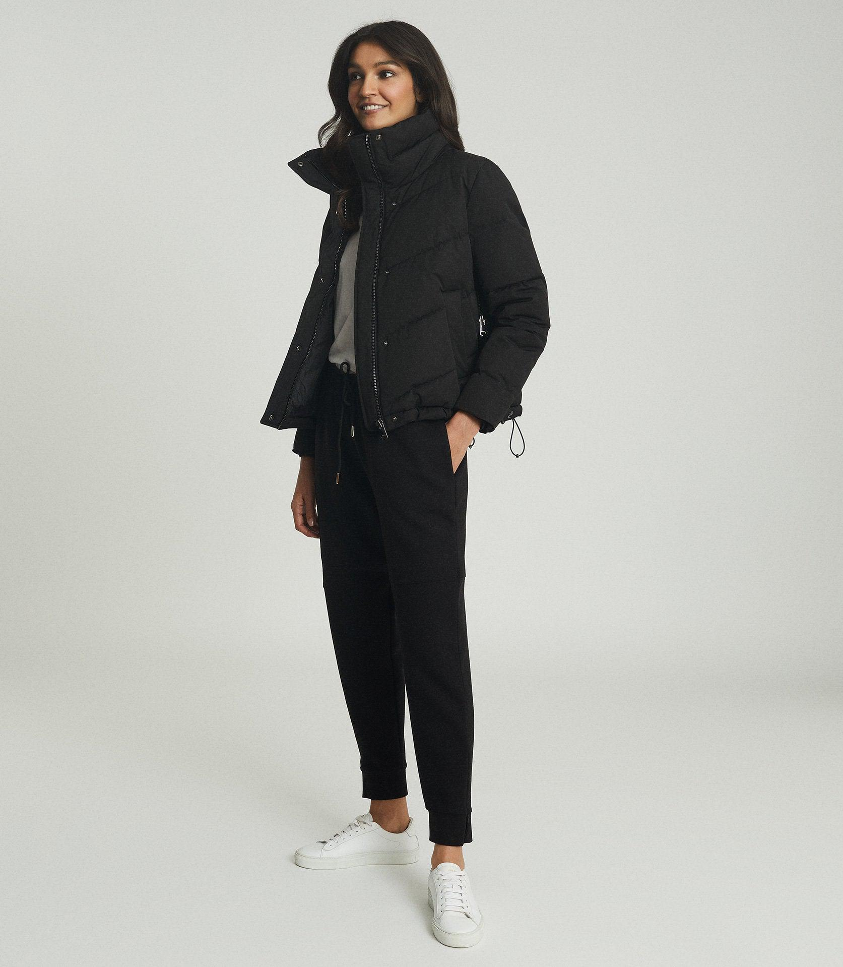 DAX - SHORT PUFFER JACKET WITH SIDE ZIP