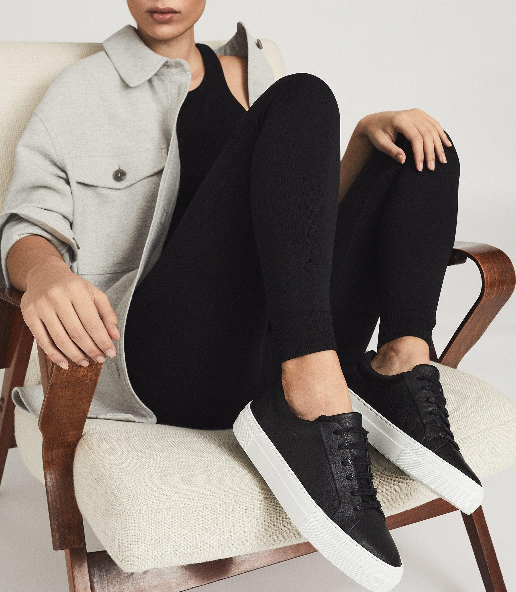 LUCA - TUMBLED LEATHER SNEAKERS 4