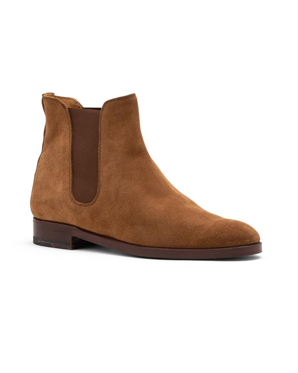 ODPEssentials Classic Chelsea Boot - Tan Suede 0