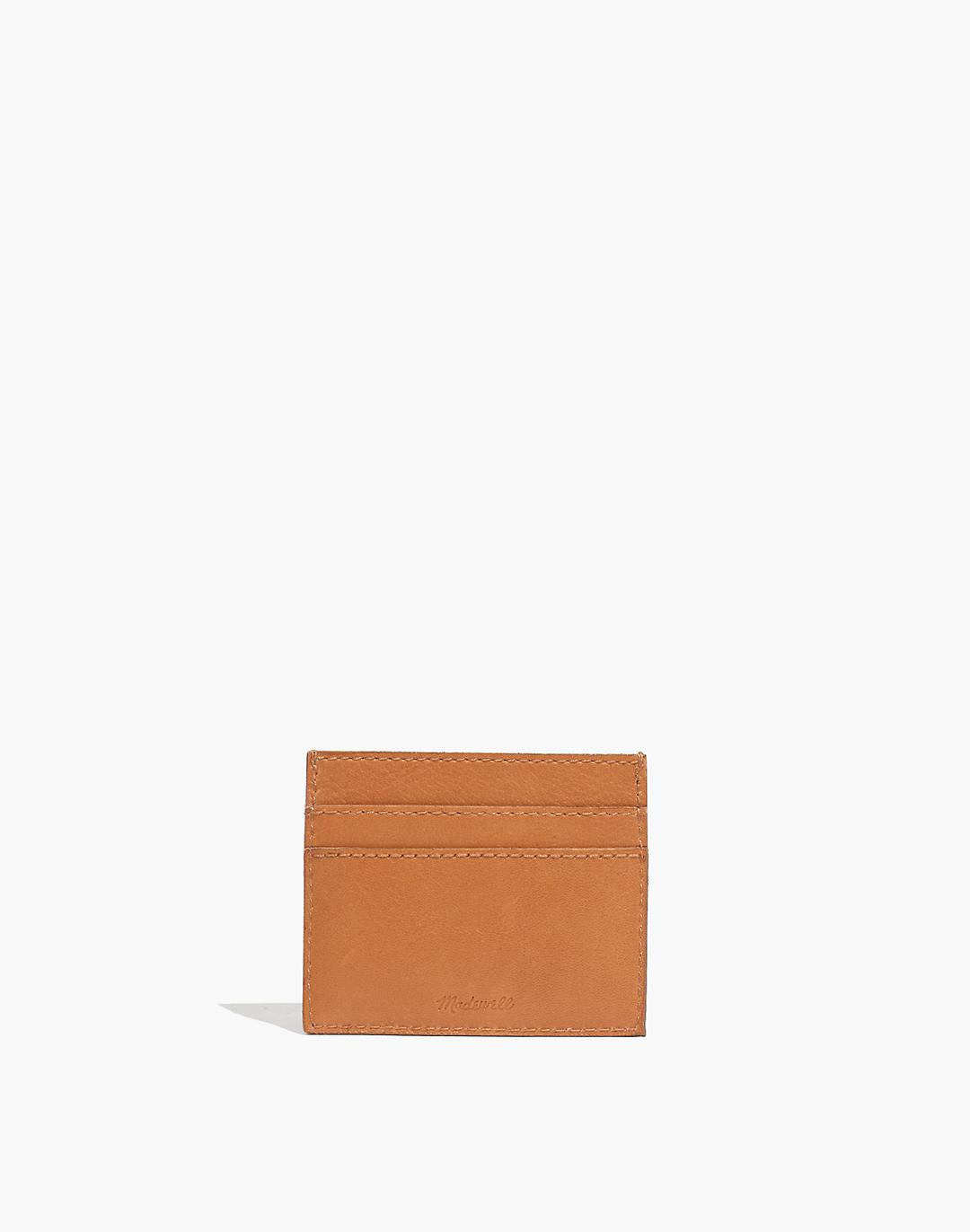 The Leather Card Case: Striped Edition