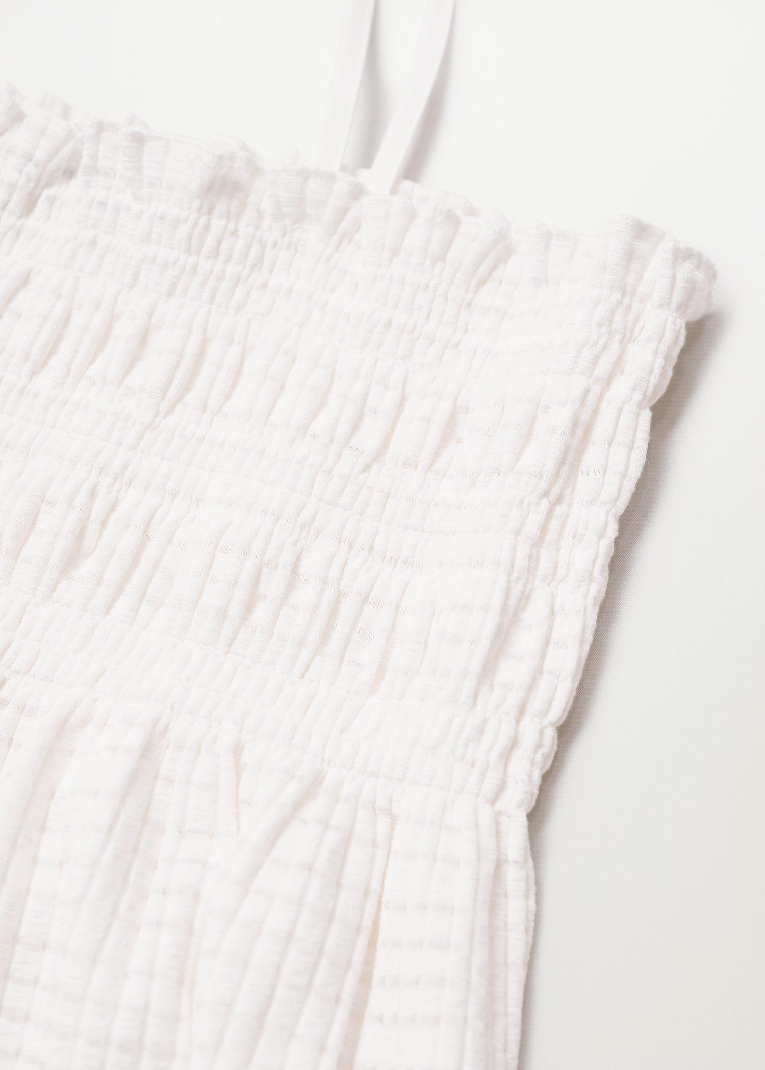 Pleated strap top 6