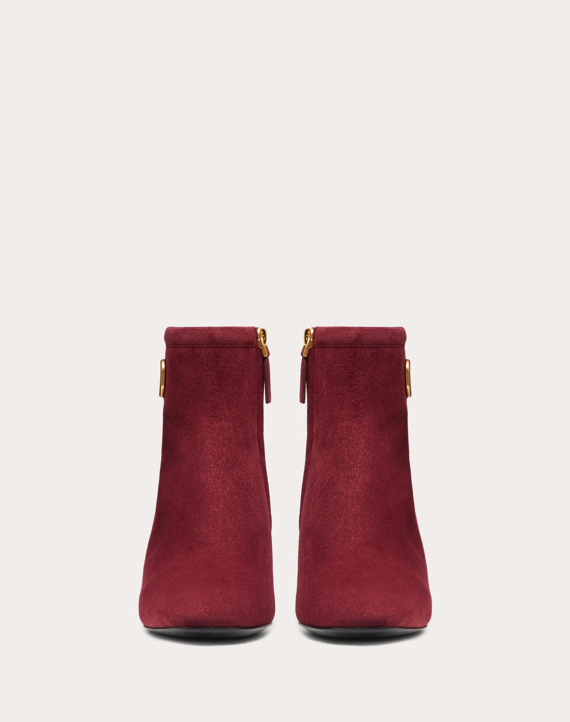 VLogo Signature Suede Ankle Boot 45 mm / 1.8 in. 3