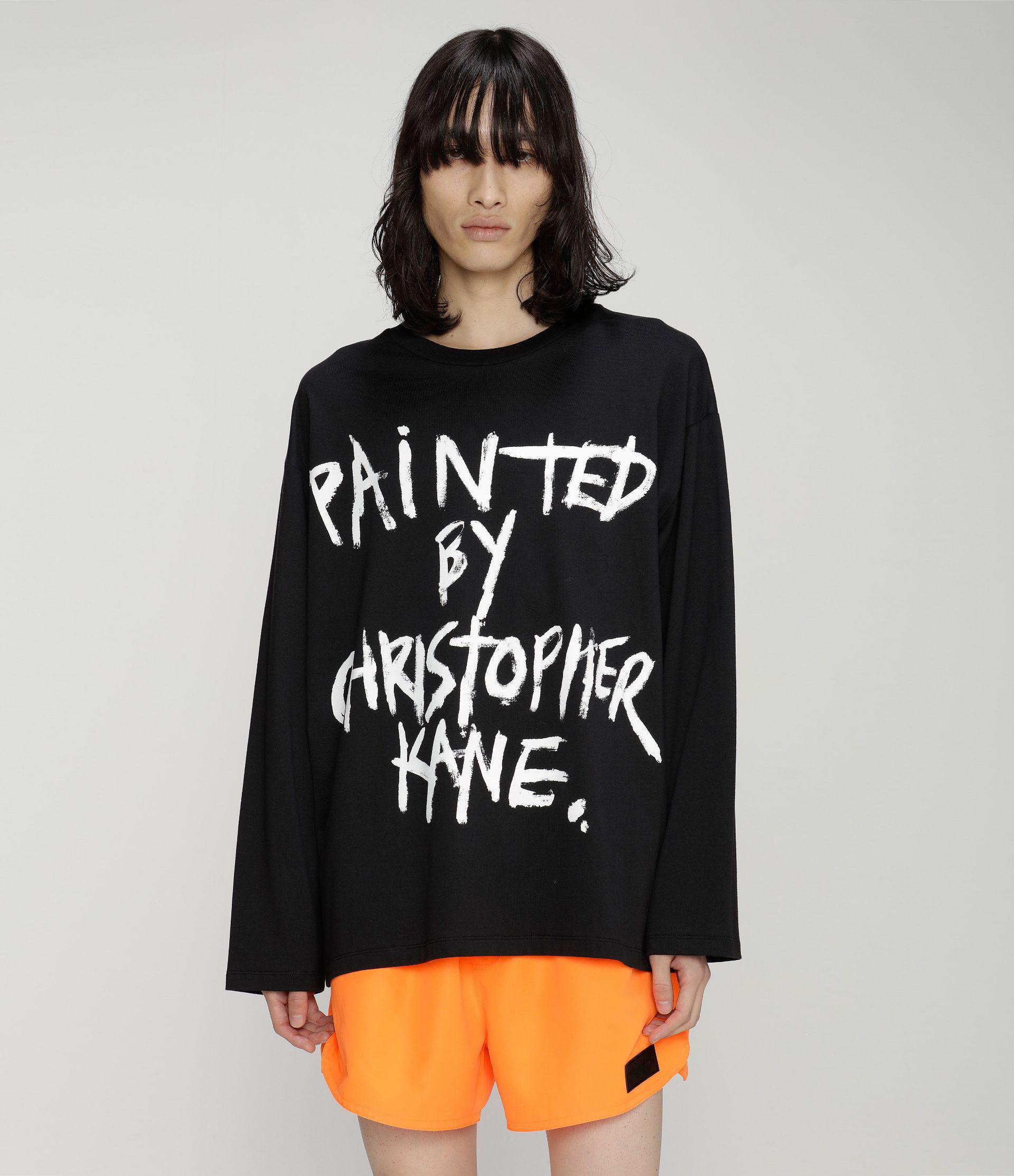 Painted by Christopher Kane long sleeve t-shirt 1