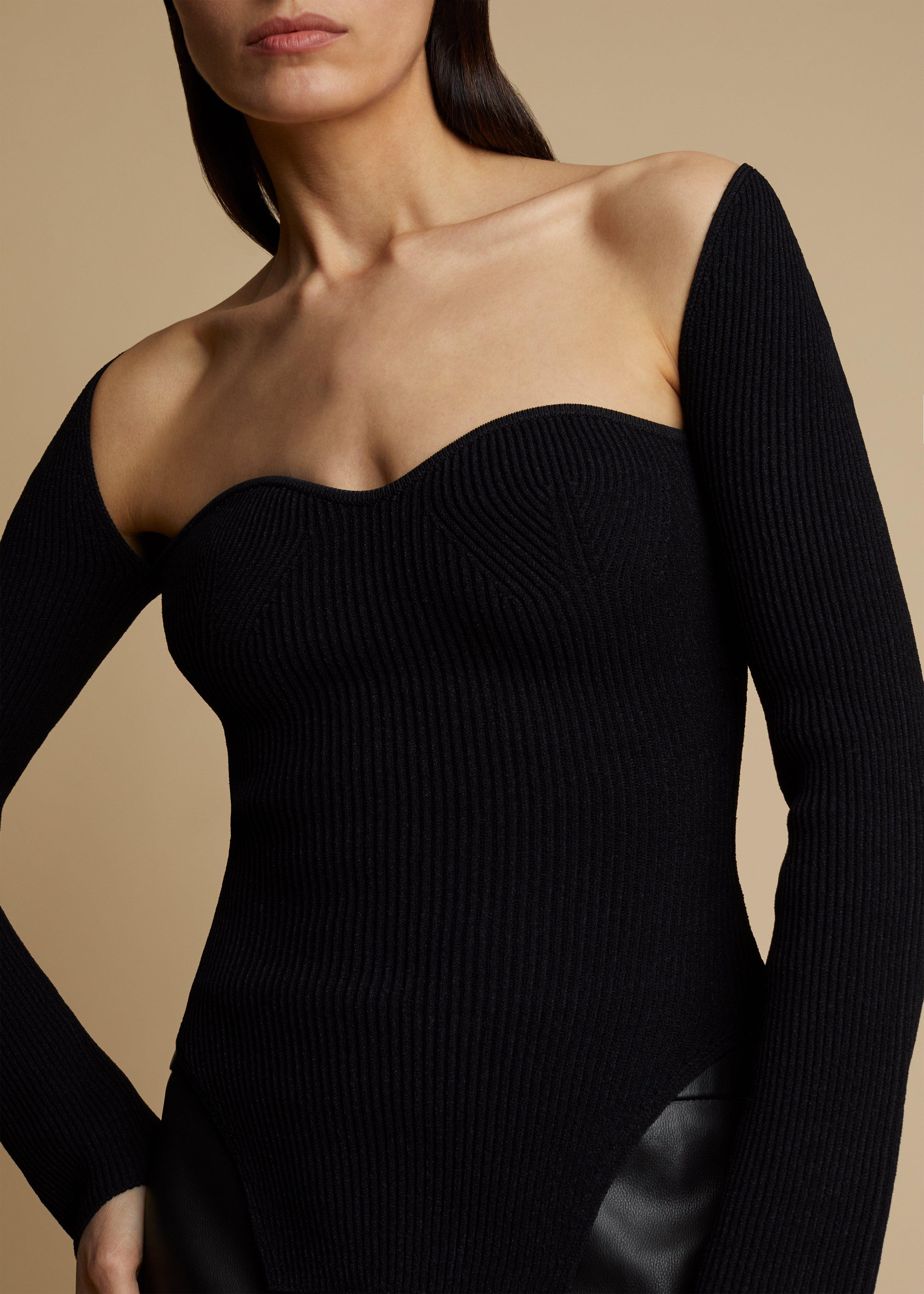The Maddy Top in Black 2