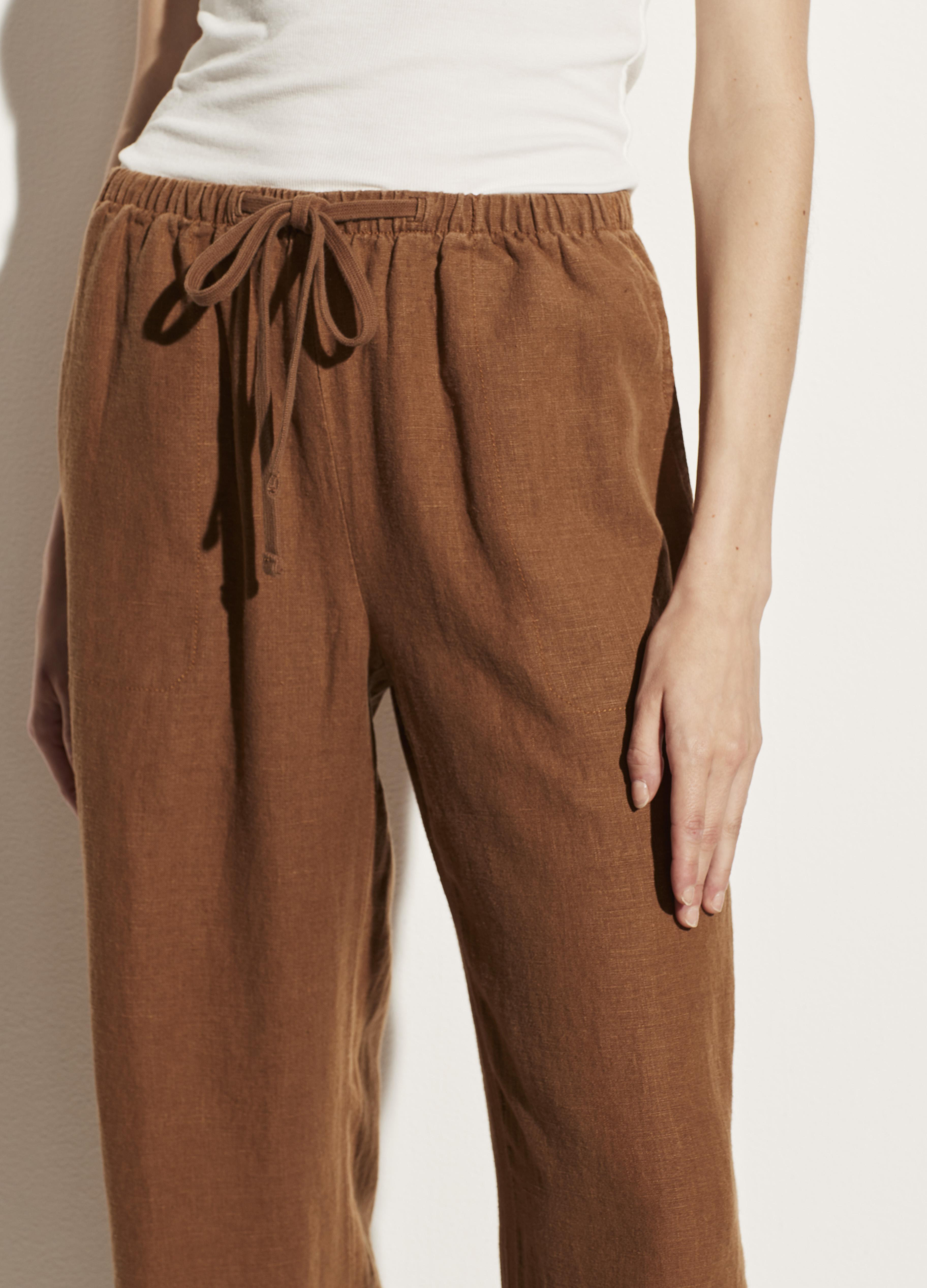 Tie Front Pull On Pant 3
