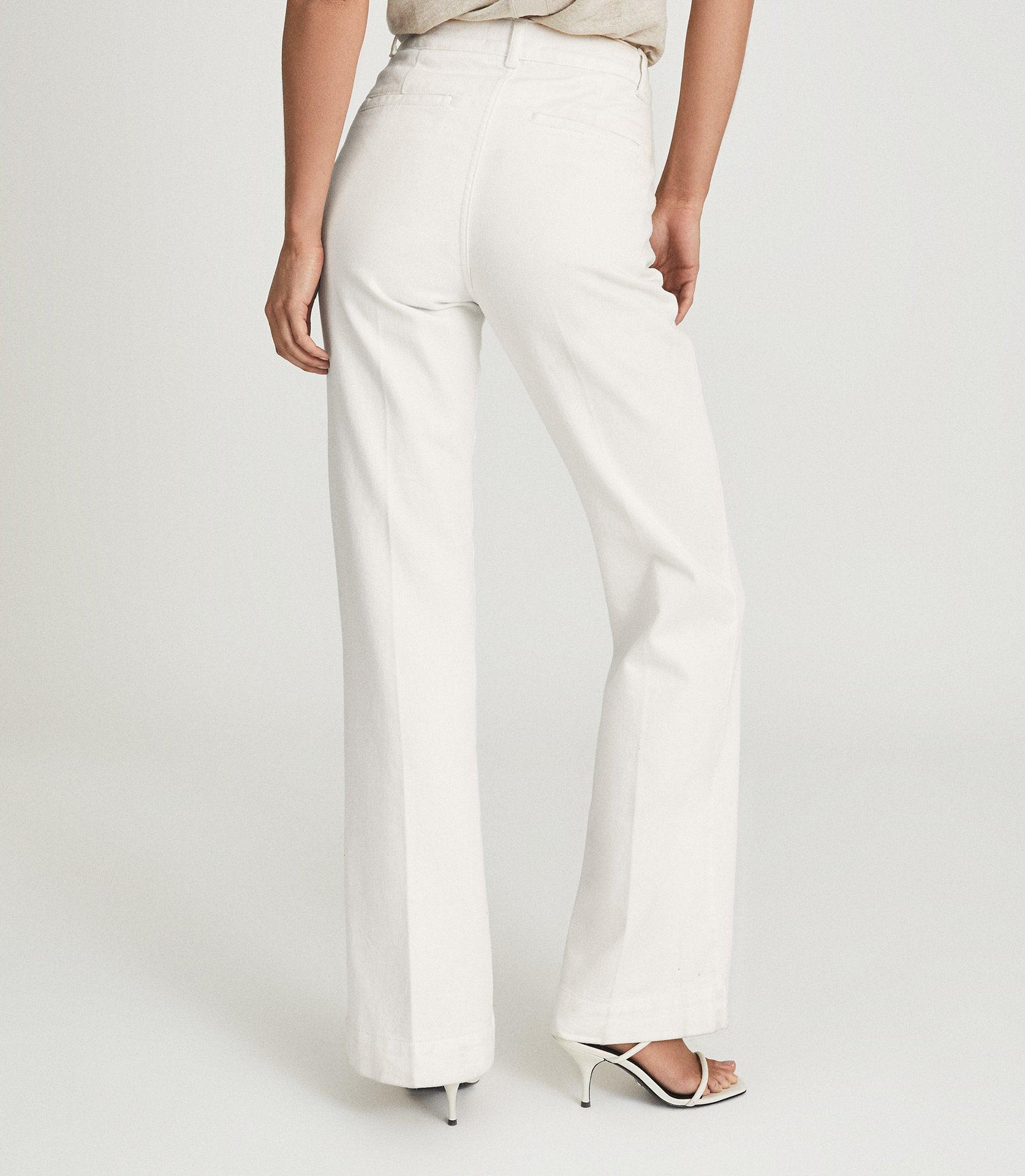 ISA - HIGH RISE FLARED JEANS 4