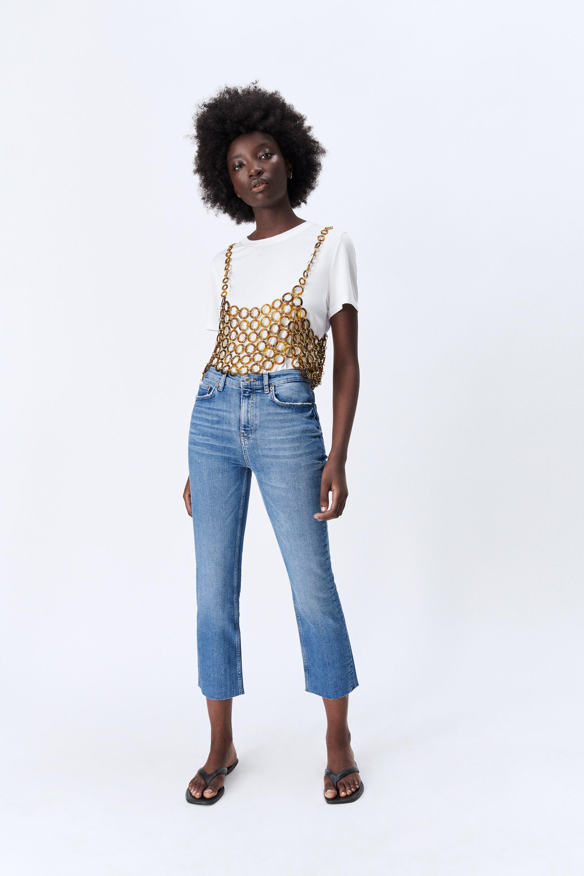 ZW THE BOOTCUT CROPPED JEANS