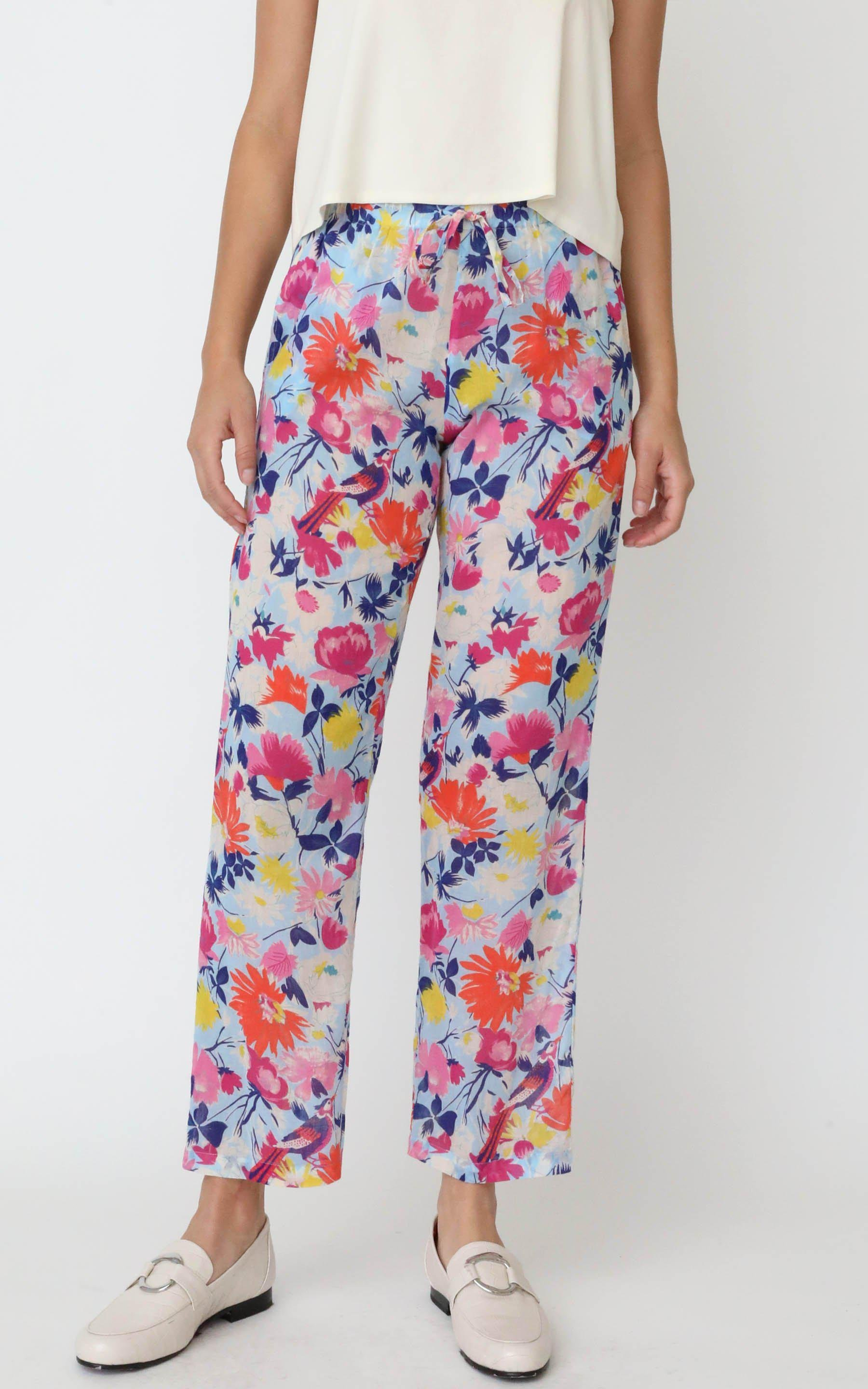 Orion Pull On Pant Fiesta Sky Blue