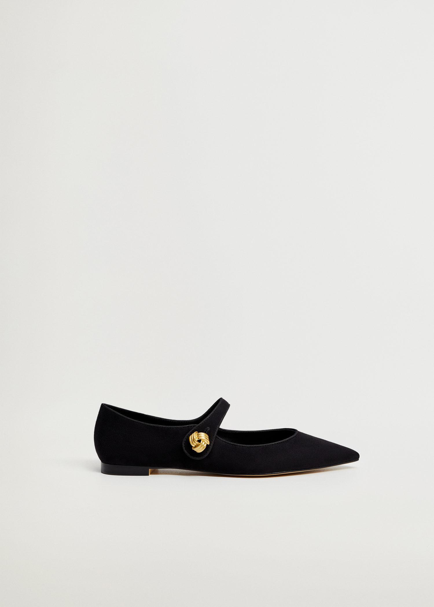 Ballerina shoes with tip