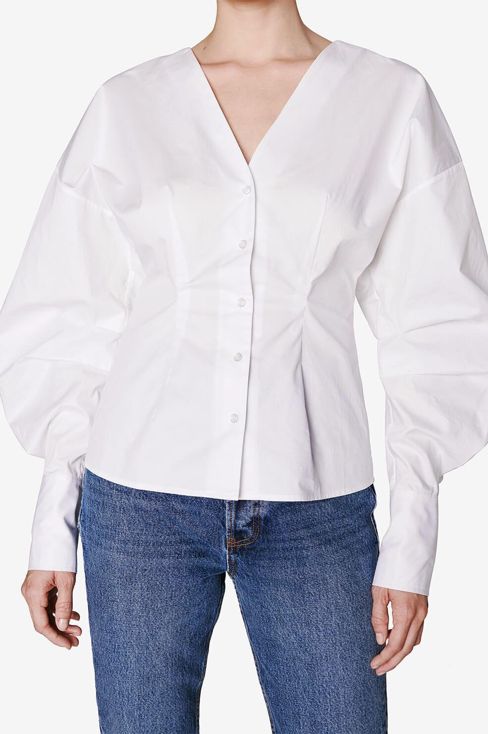 Lindsey Top - White 2