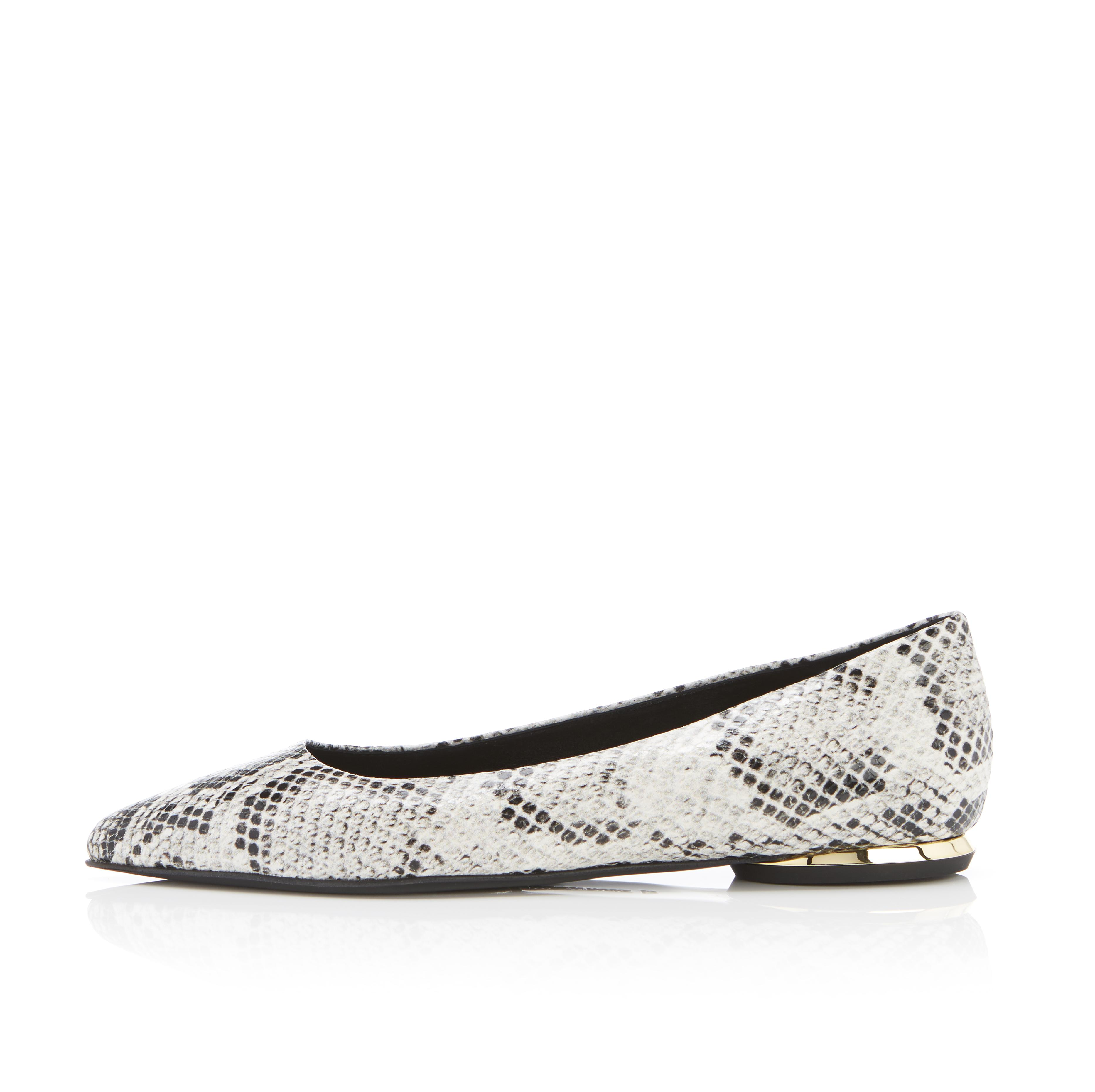 Must Have Flat | Python Snake Print Classic Pointy Toe Flat