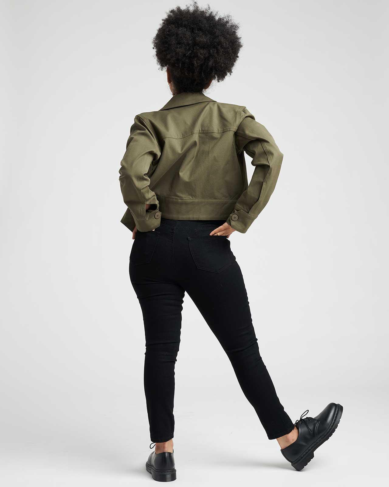 Chelsea Stretch Cotton Twill Jacket 3