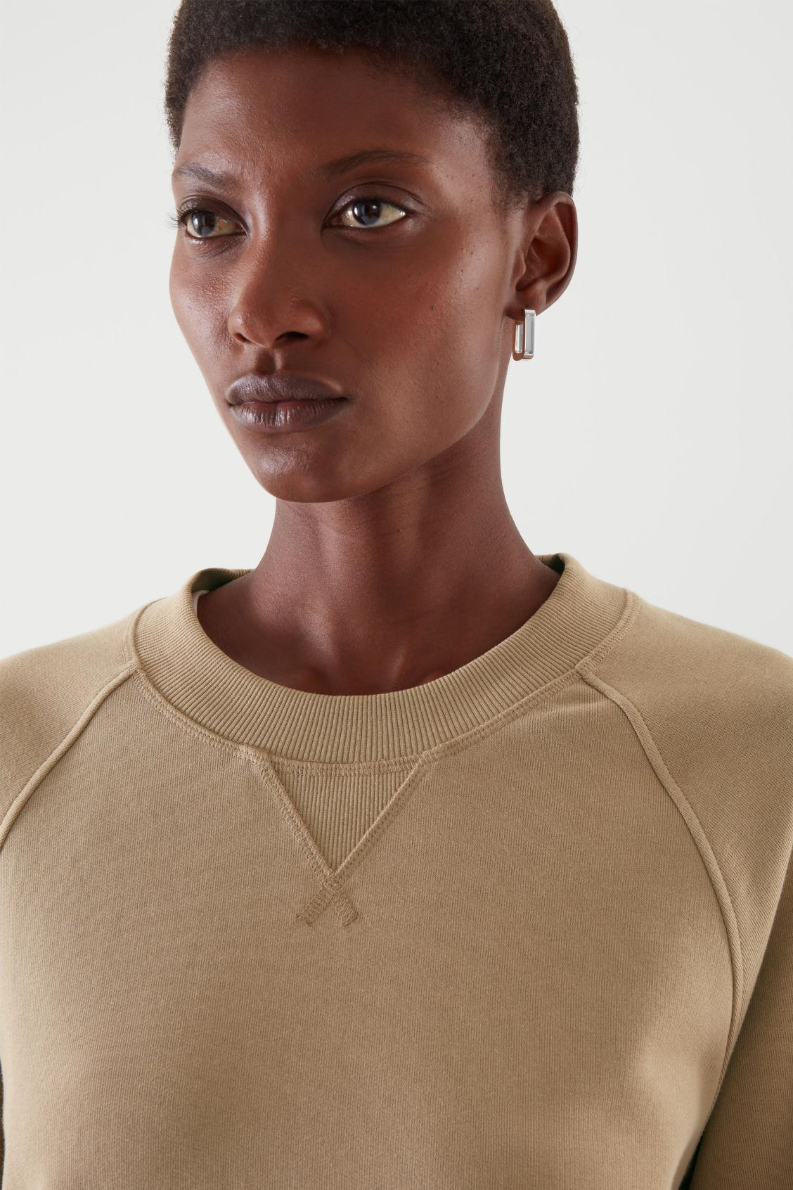 RELAXED-FIT TERRY SWEATSHIRT 1