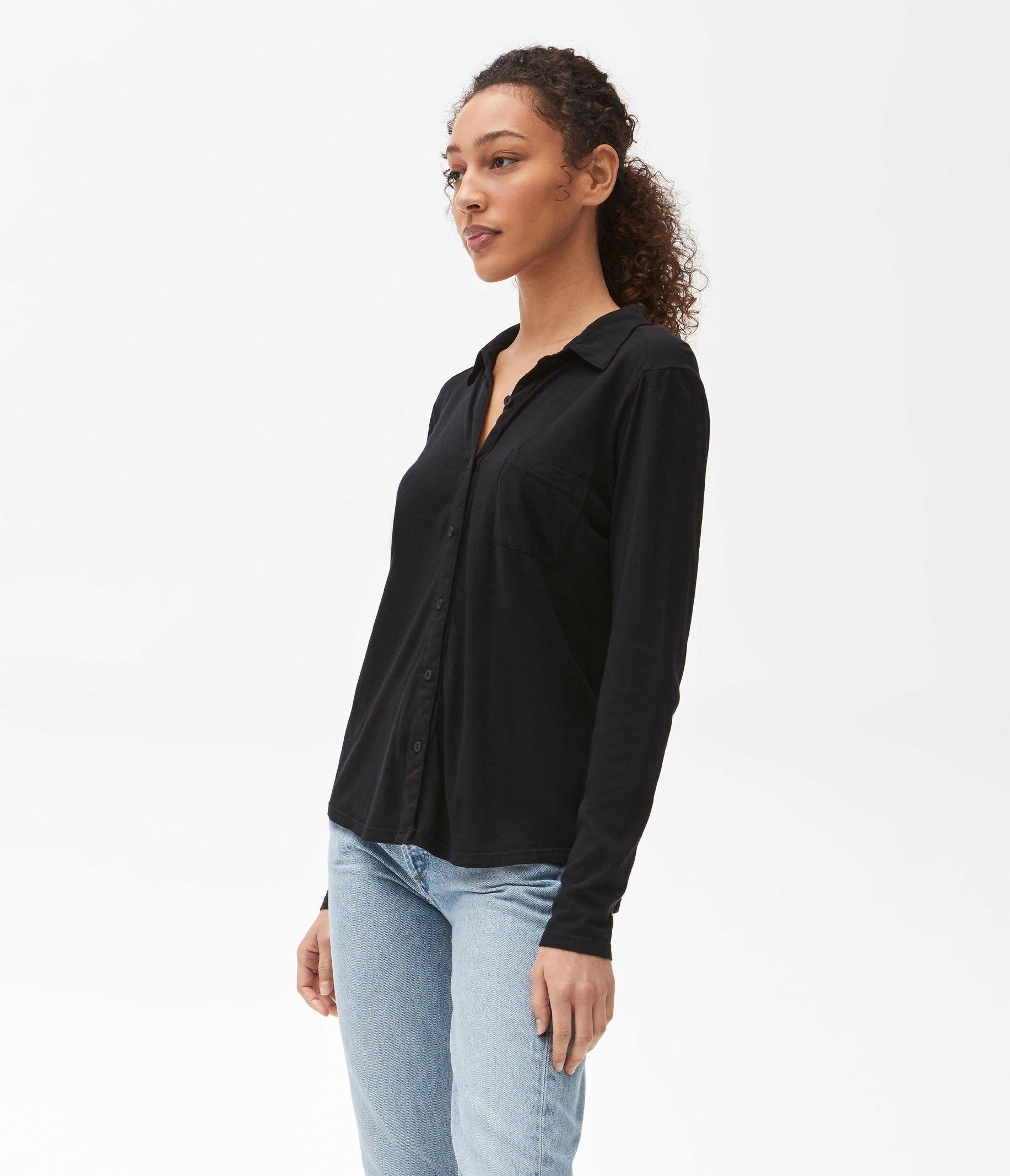 Harley Long Sleeve Button Up Top 2