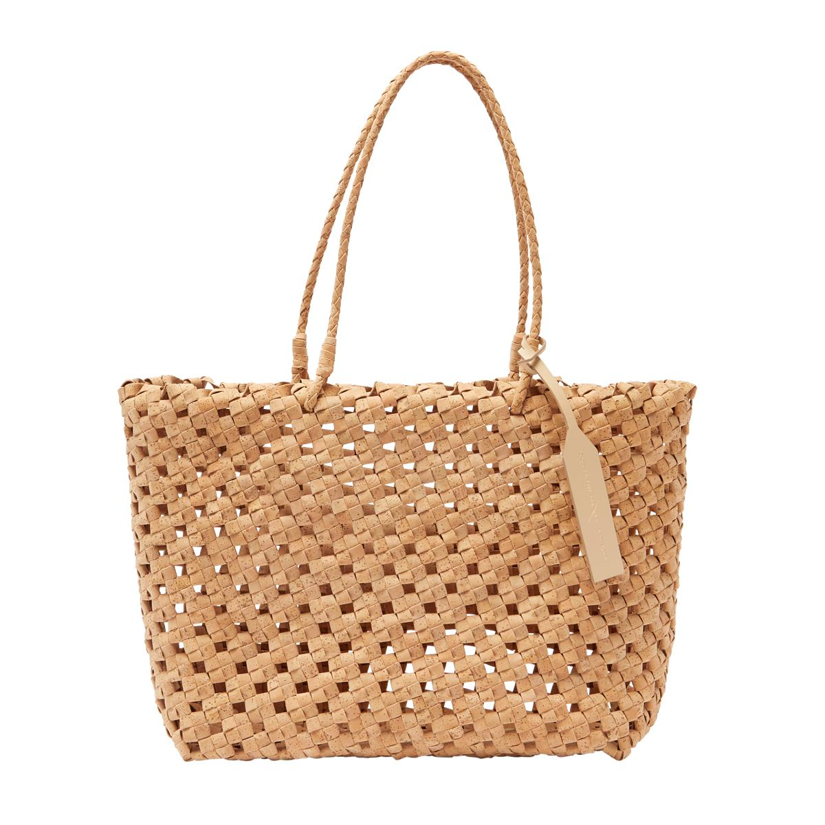 Vegan Cork Knotted Tote
