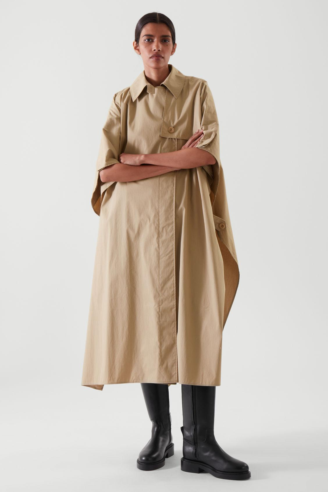 RELAXED-FIT CAPE