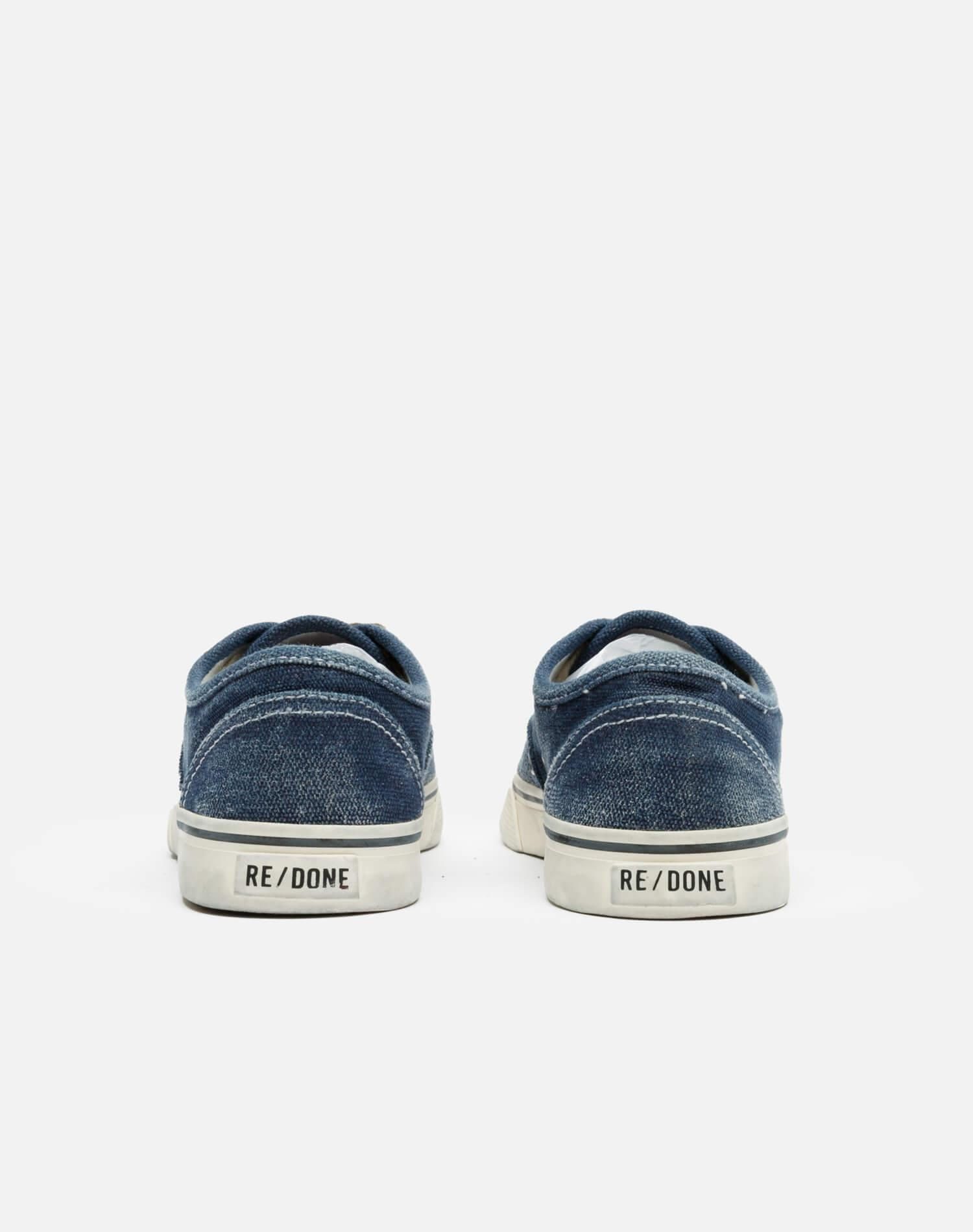 70s Low Top Skate - Faded Navy 3