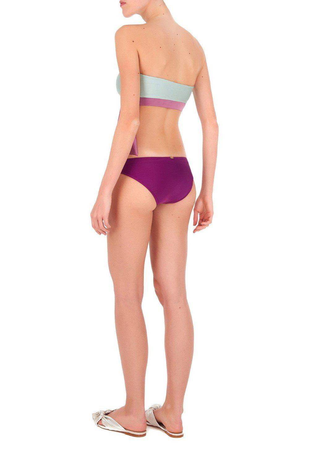 Cinque Terre Strapless Bikini with Knot Detail 2